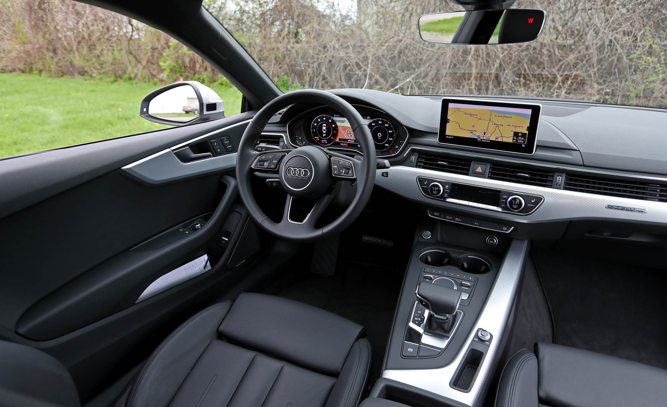 2018 Audi A5 Coupe Interior Driver Steering And Dash (Photo 17 of 50)