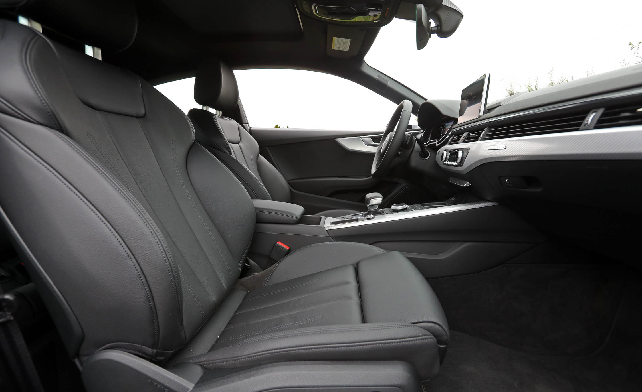 2018 Audi A5 Coupe Interior Seats Front (Photo 19 of 50)