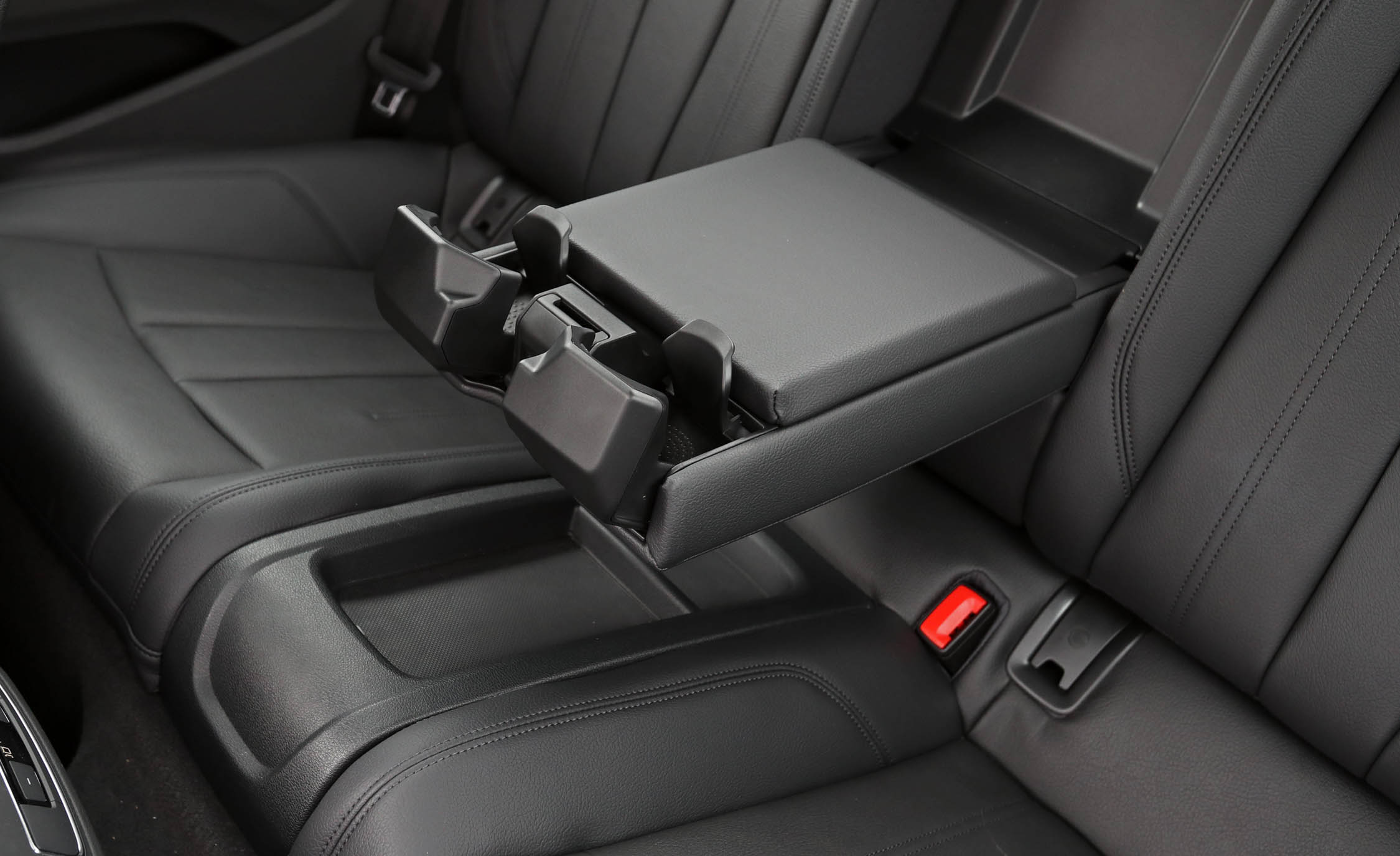 2018 Audi A5 Coupe Interior Seats Rear Armrest And Cup Holders (Photo 22 of 50)