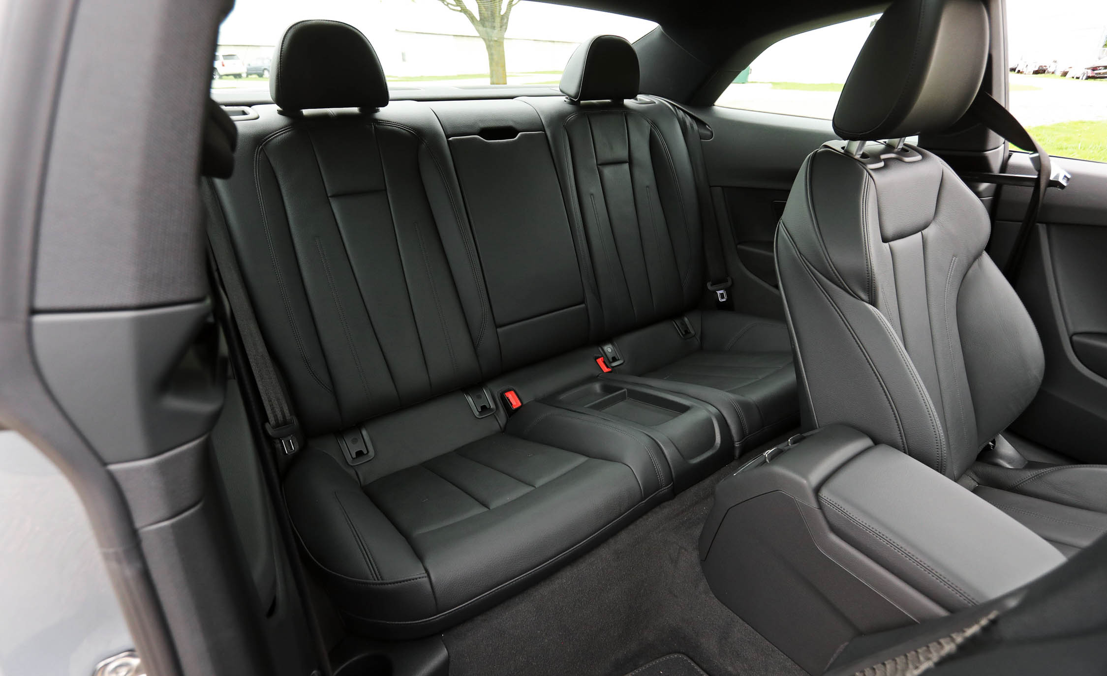 2018 Audi A5 Coupe Interior Seats Rear Passengers (Photo 23 of 50)