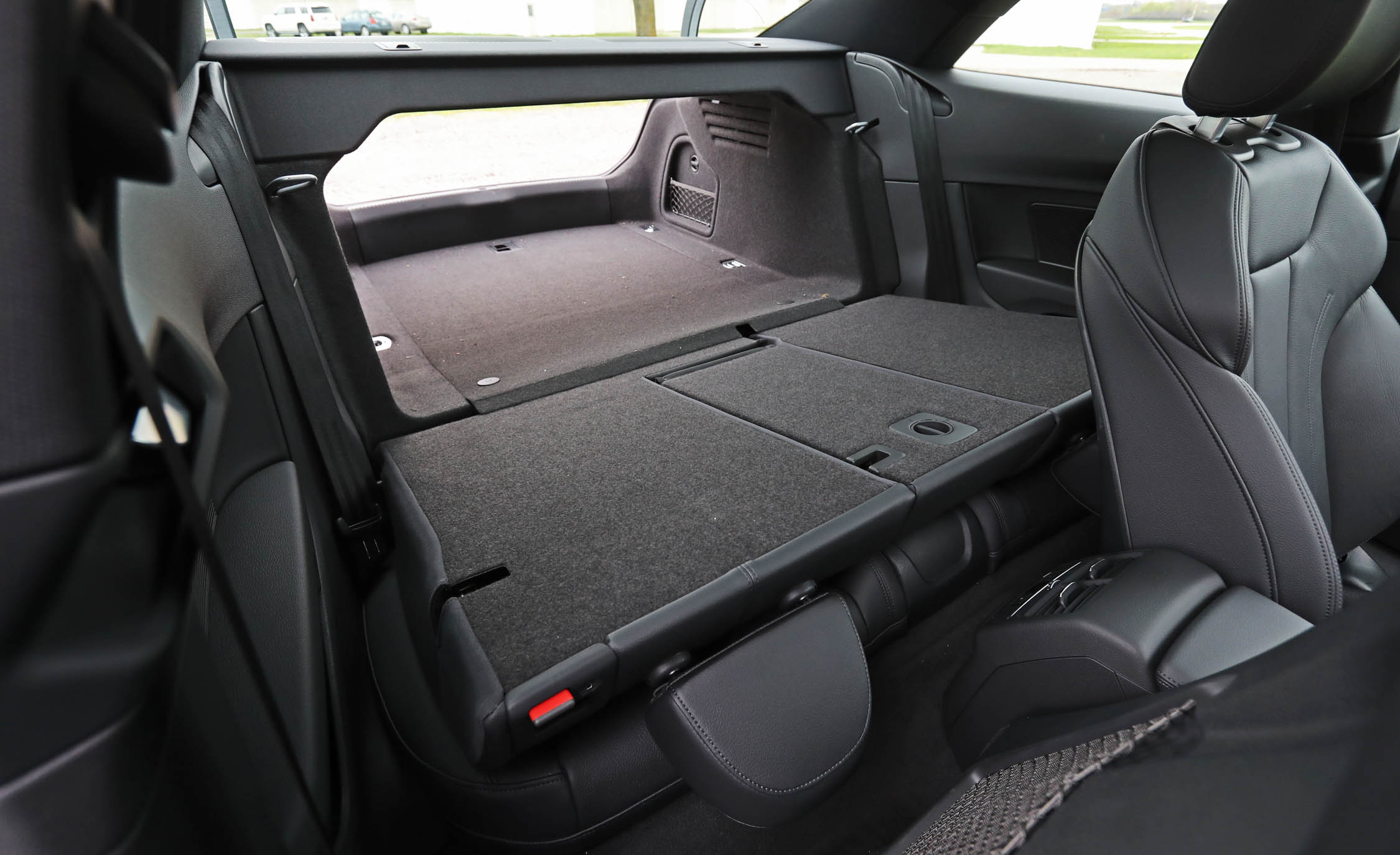 2018 Audi A5 Coupe Interior View Cargo Trunk Seats Folded From Inside (Photo 26 of 50)