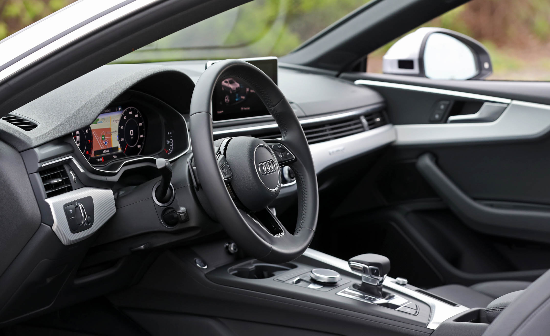 2018 Audi A5 Coupe Interior View Steering And Dash (Photo 37 of 50)