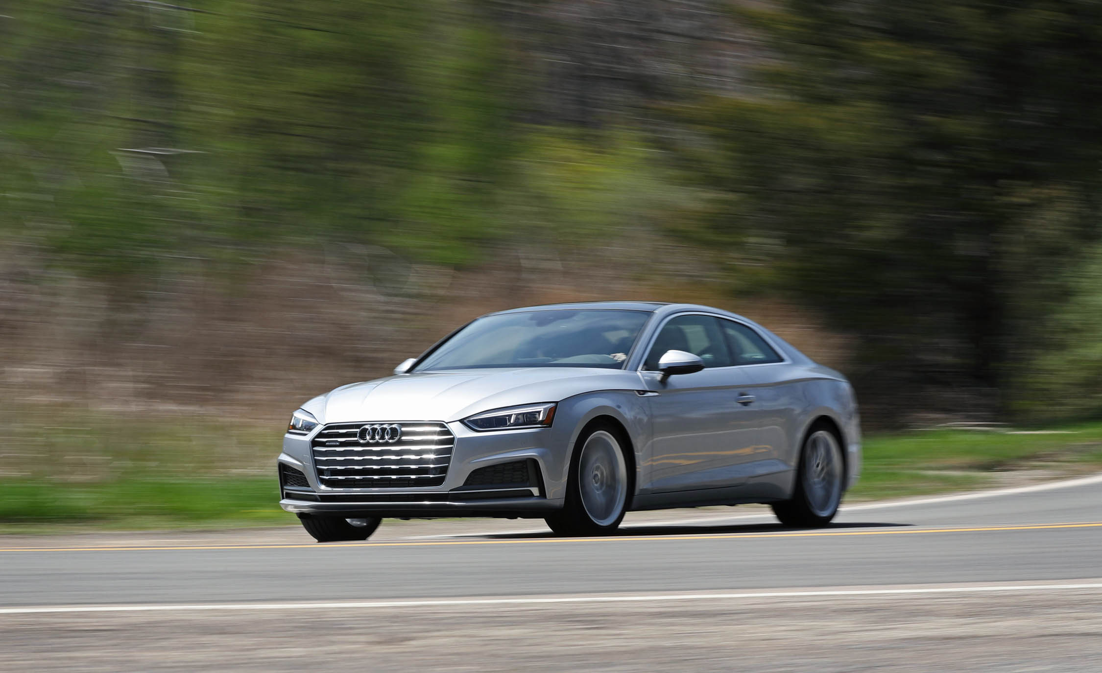 2018 Audi A5 Coupe Silver Metallic (Photo 40 of 50)