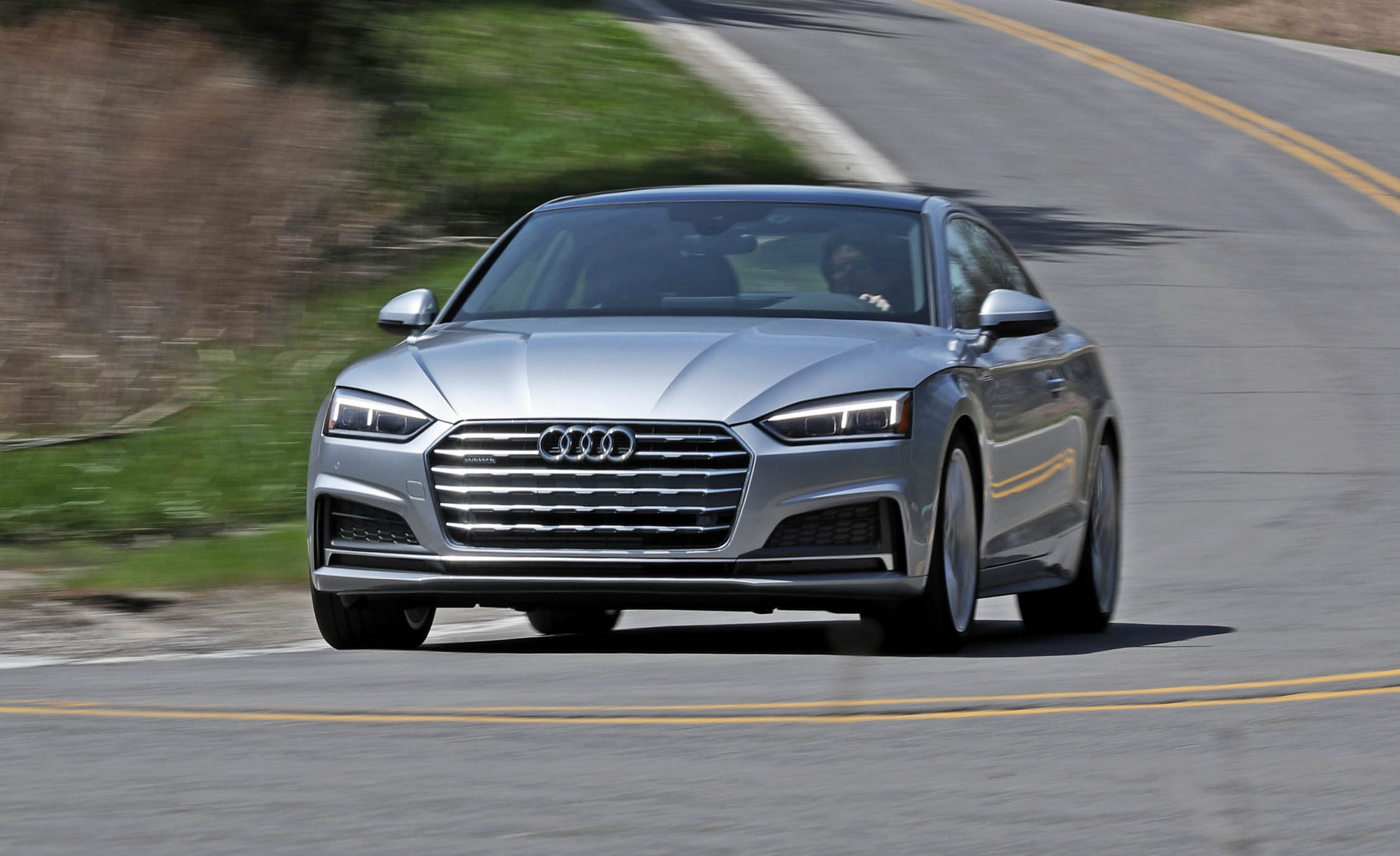 2018 Audi A5 Coupe Test Drive Front Corner (Photo 42 of 50)