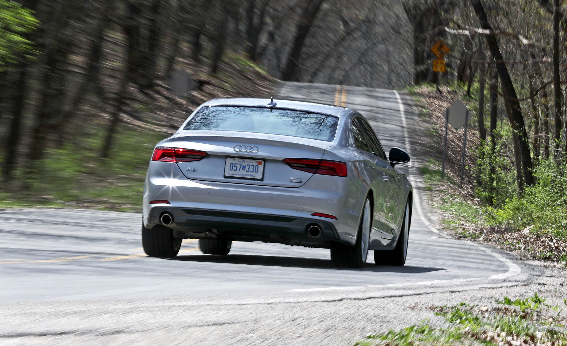 2018 Audi A5 Coupe Test Drive Rear View (Photo 46 of 50)