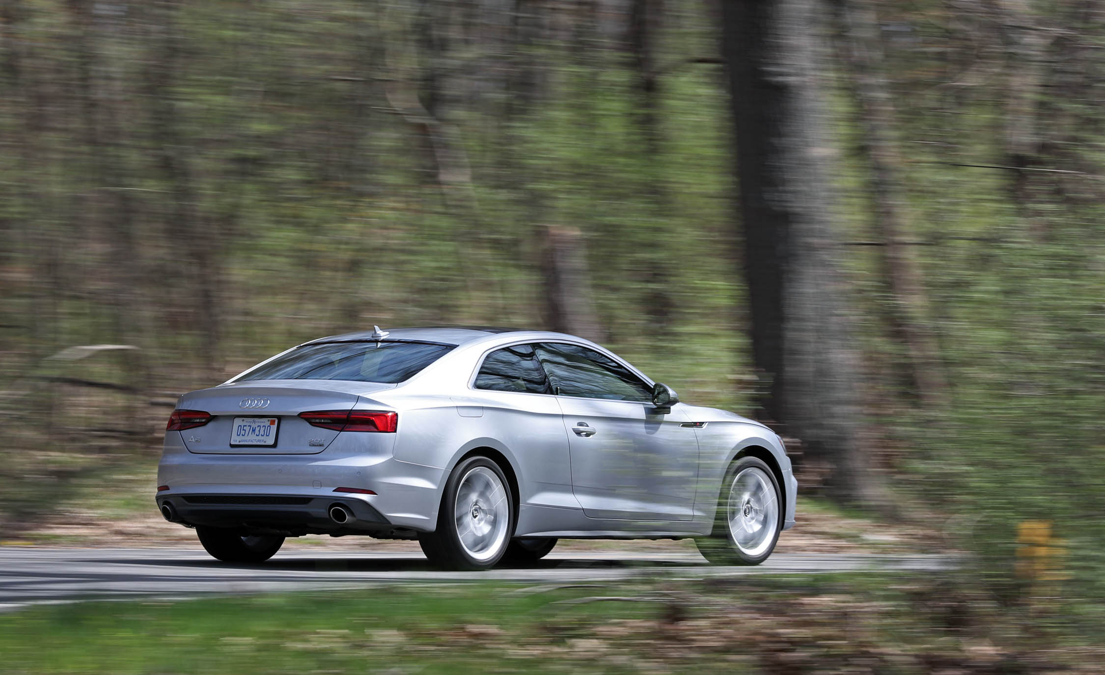 2018 Audi A5 Coupe Test Drive Side And Rear (Photo 47 of 50)