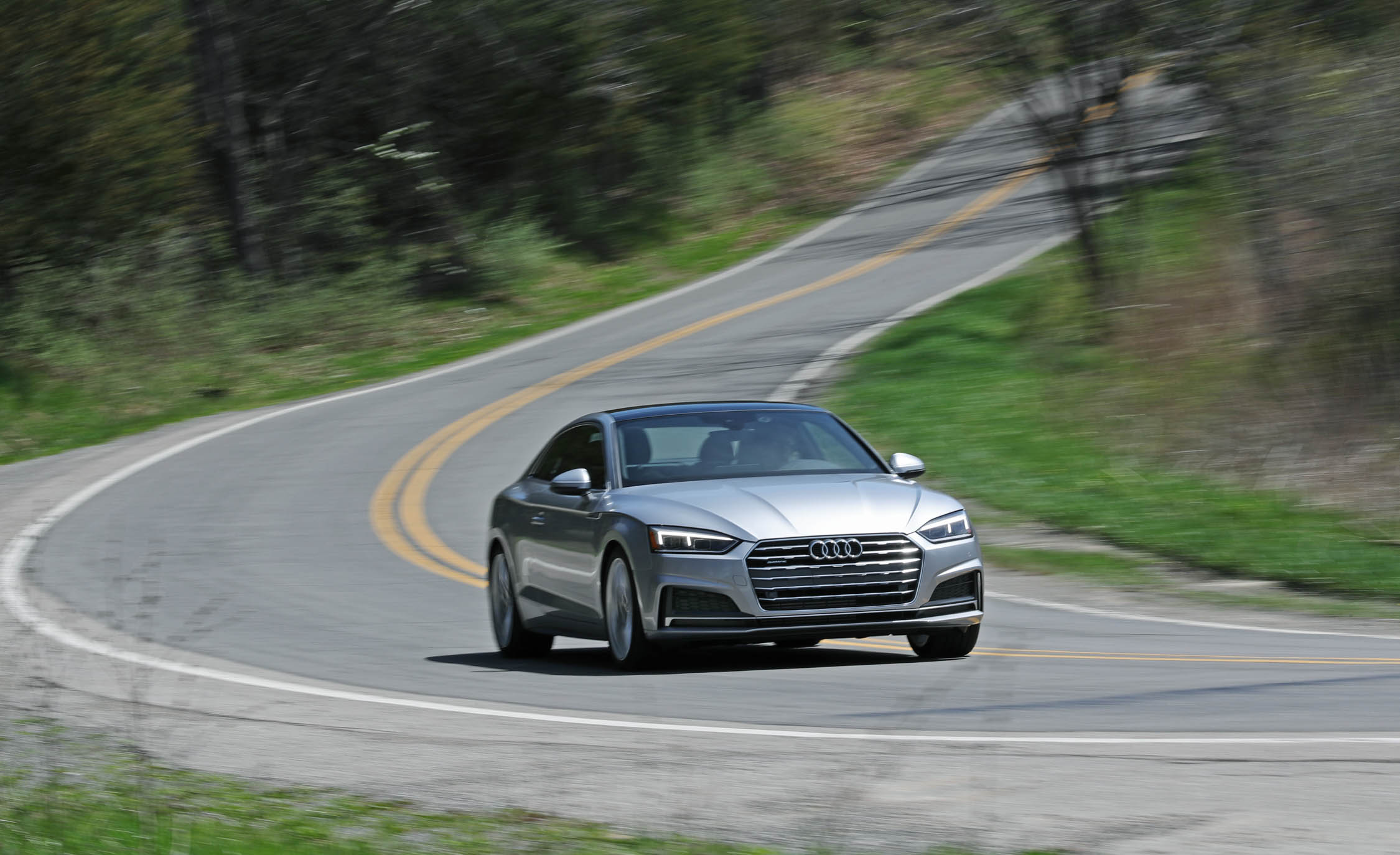 2018 Audi A5 Coupe Test Drive (Photo 41 of 50)