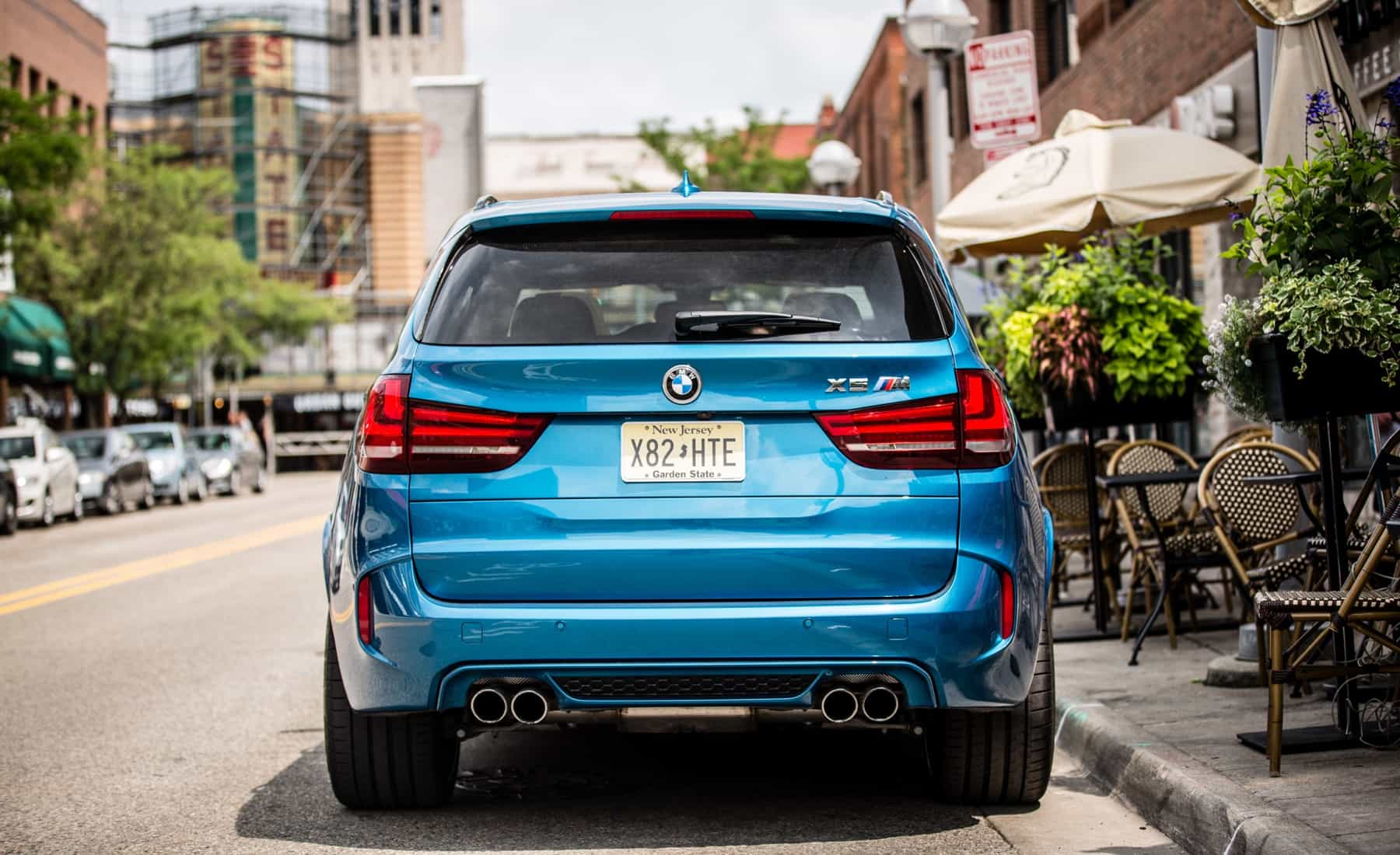 2017 BMW X5 M Exterior Rear (Photo 29 of 35)
