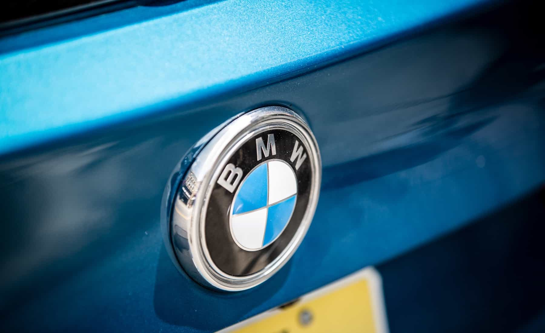 2017 BMW X5 M Exterior View Rear BMW Badge (Photo 11 of 35)