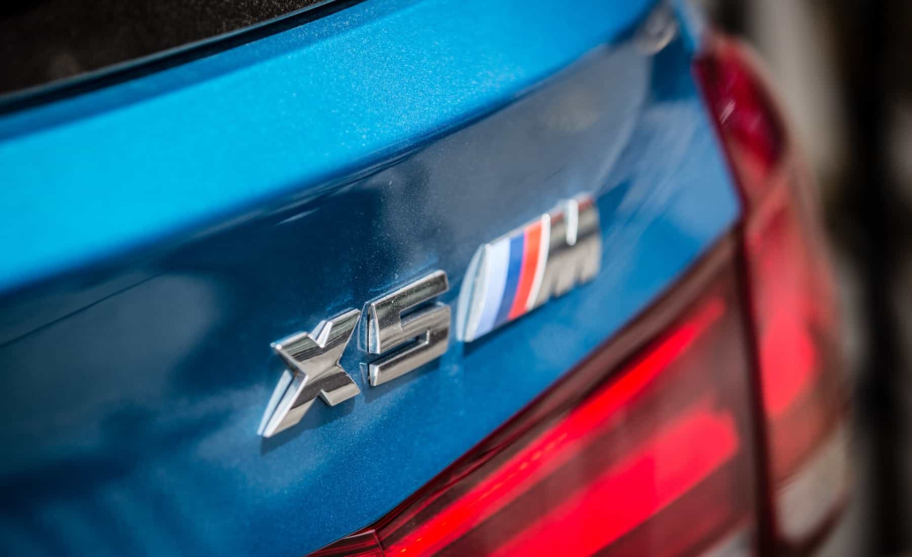 2017 BMW X5 M Exterior View Rear Badge (Photo 33 of 35)