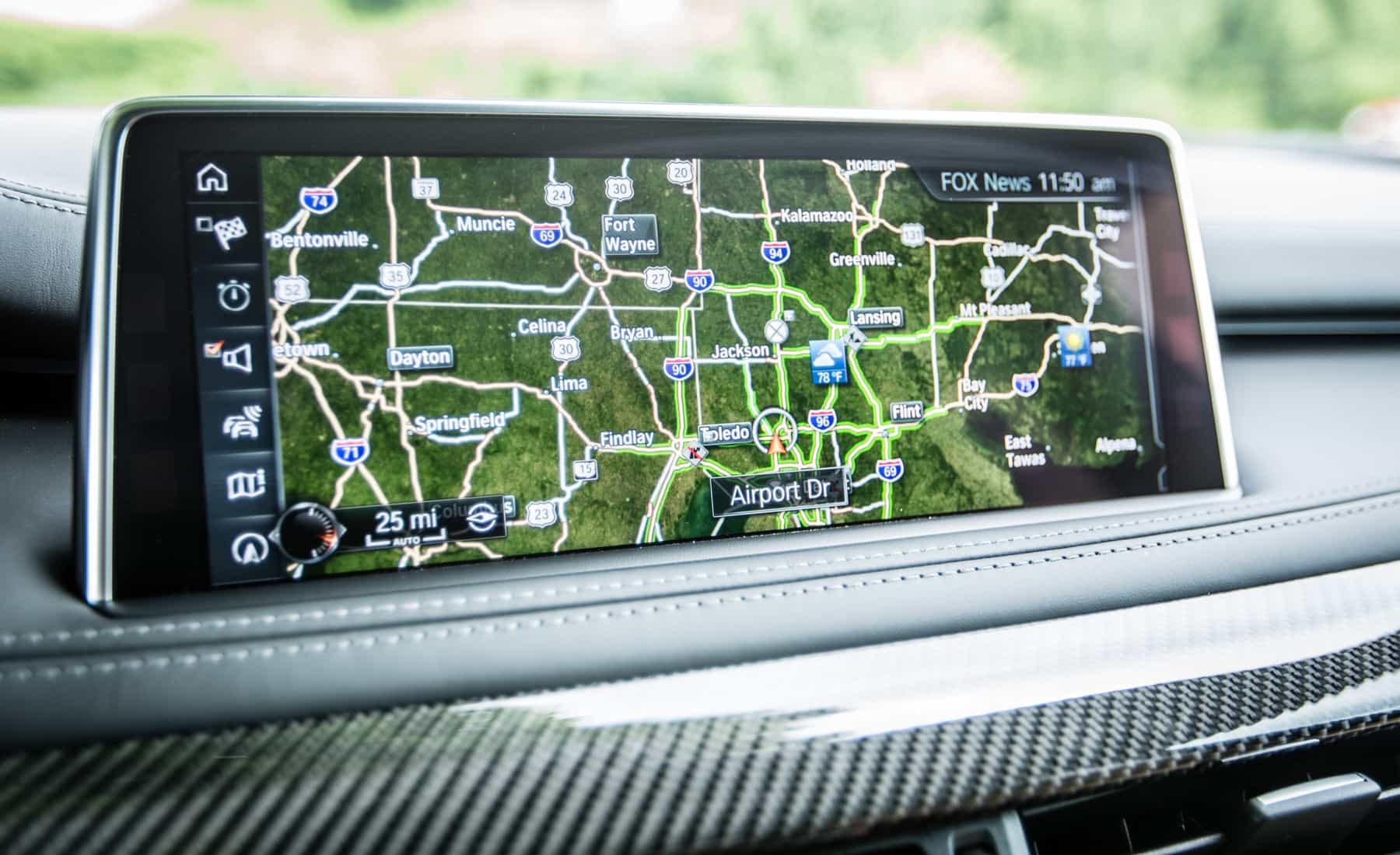 2017 BMW X5 M Interior View GPS Navigation (Photo 23 of 35)