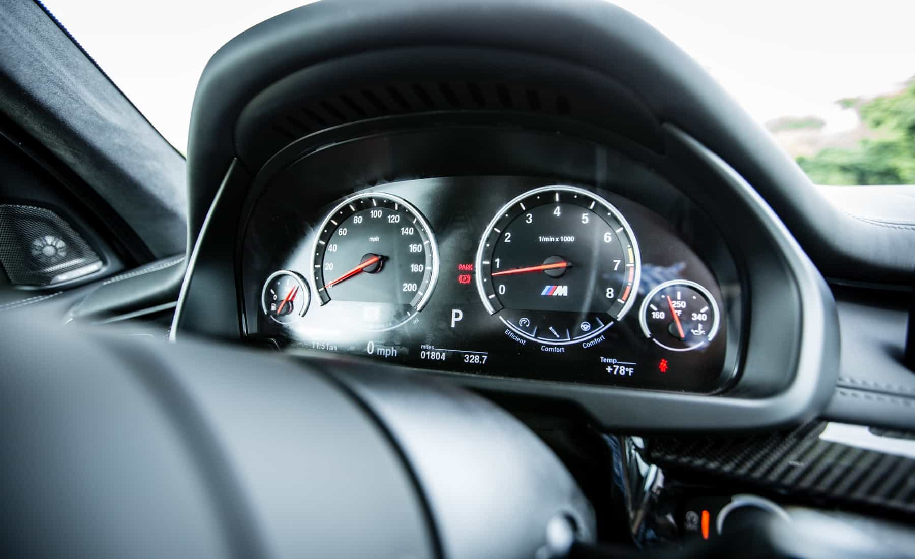 2017 BMW X5 M Interior View Speedometer (Photo 25 of 35)