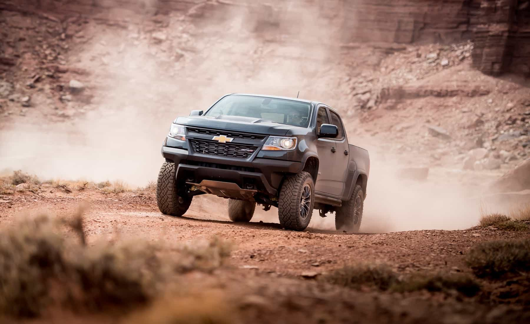 2017 Chevrolet Colorado ZR2 Crew Cab Diesel Test Drive Front (Photo 1 of 16)