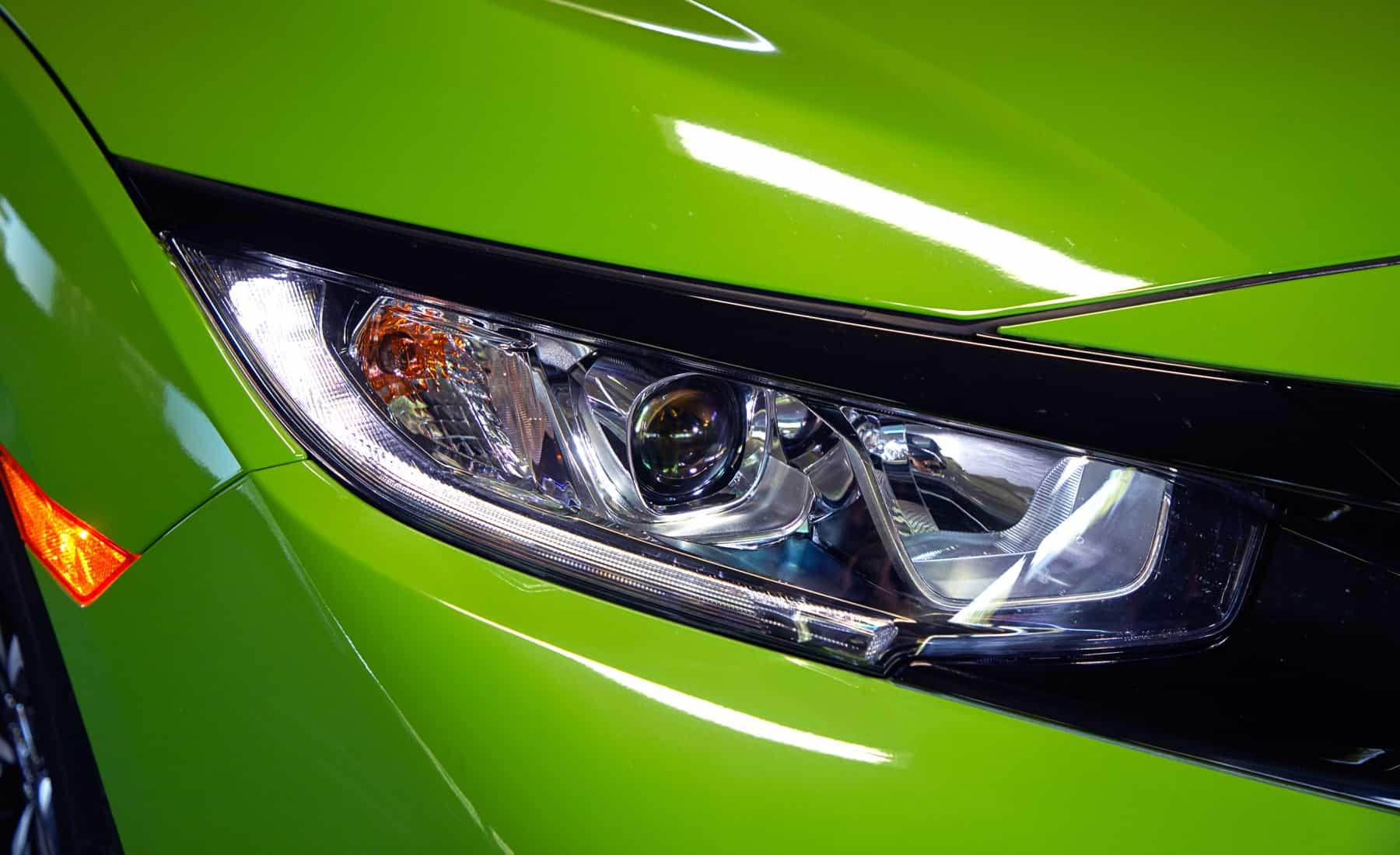 2017 Honda Civic Si Coupe Exterior View Headlight (Photo 11 of 19)