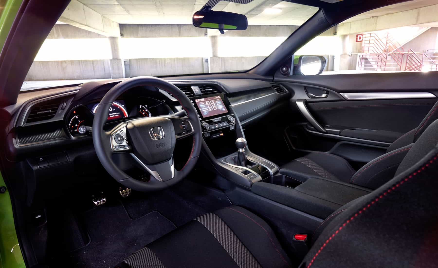 2017 Honda Civic Si Coupe Interior Cockpit And Dashboard (Photo 15 of 19)