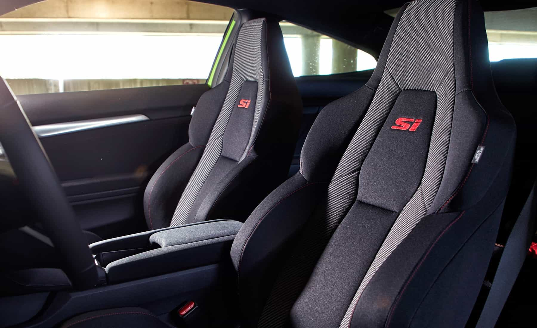 2017 Honda Civic Si Coupe Interior Seats Front (Photo 6 Of 19)