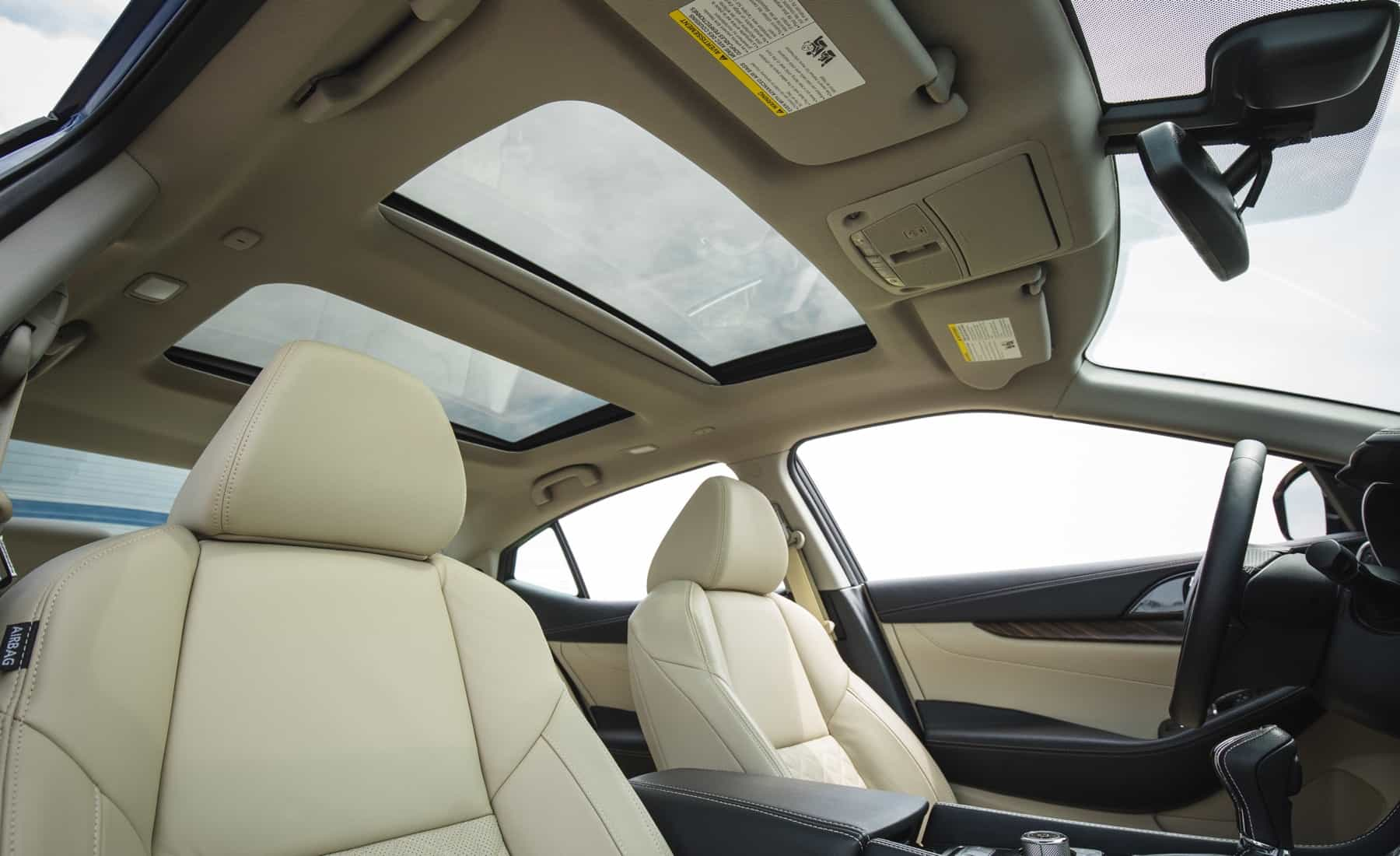 2017 Nissan Maxima Interior View Sunroof (Photo 33 of 40)