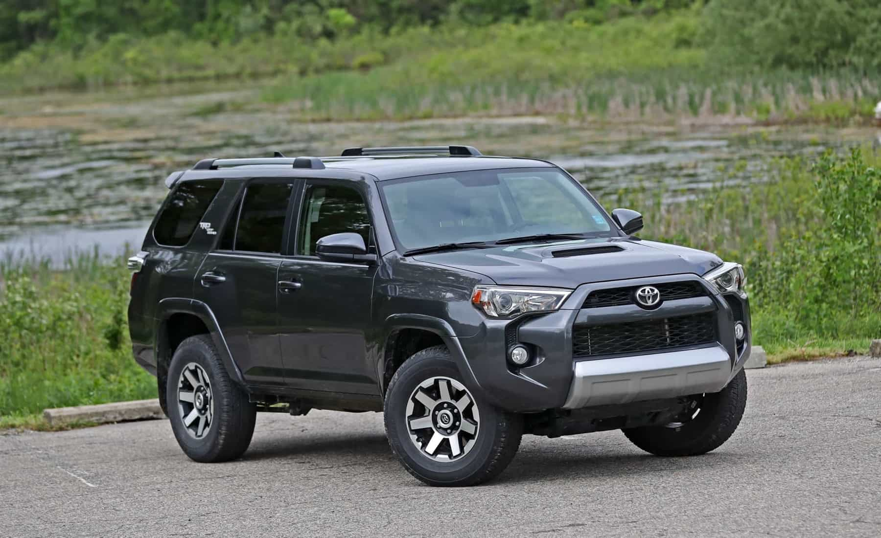 2017 Toyota 4Runner TRD Off Road 4WD Exterior View (Photo 23 of 40)