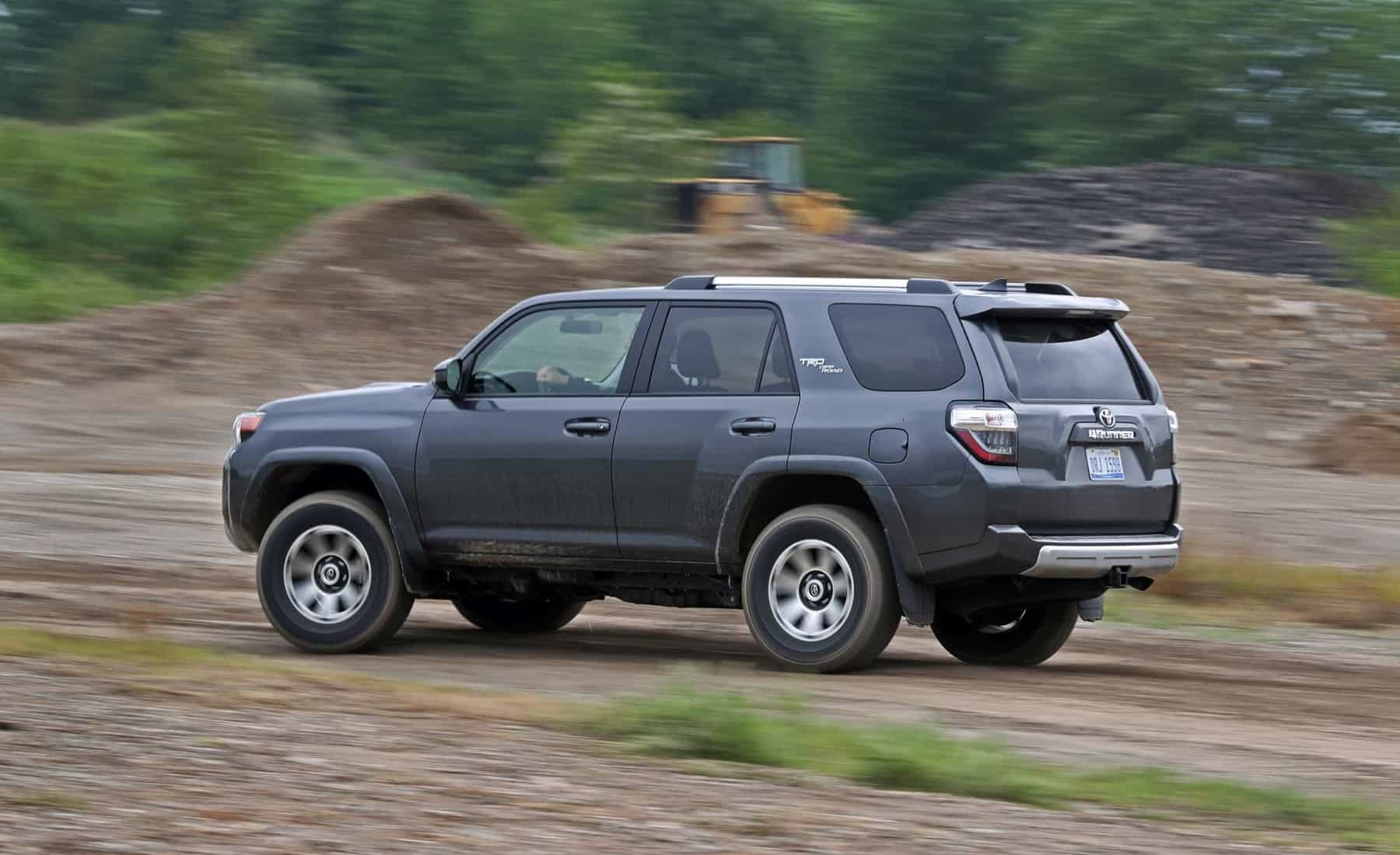 2017 Toyota 4Runner TRD Off Road 4WD Test Drive Side And Rear View (Photo 3 of 40)