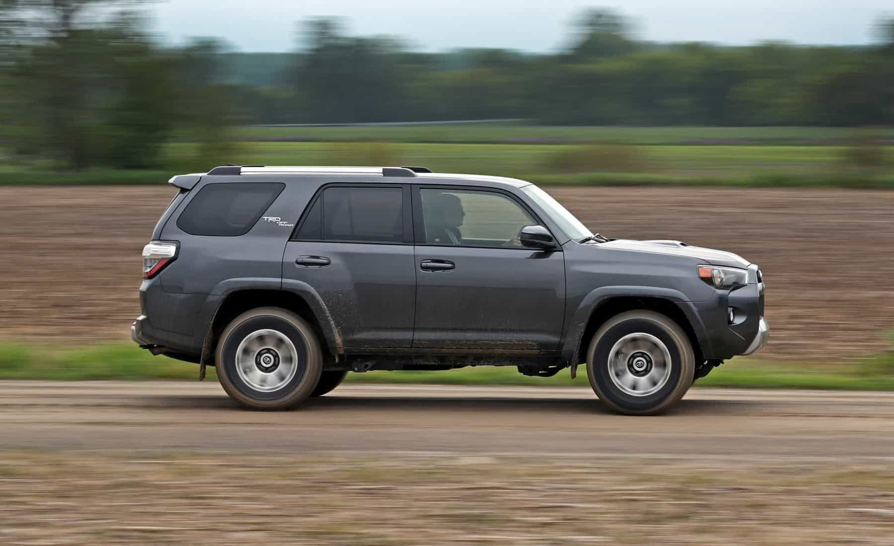 2017 Toyota 4Runner TRD Off Road 4WD Test Drive Side View (View 4 of 40)