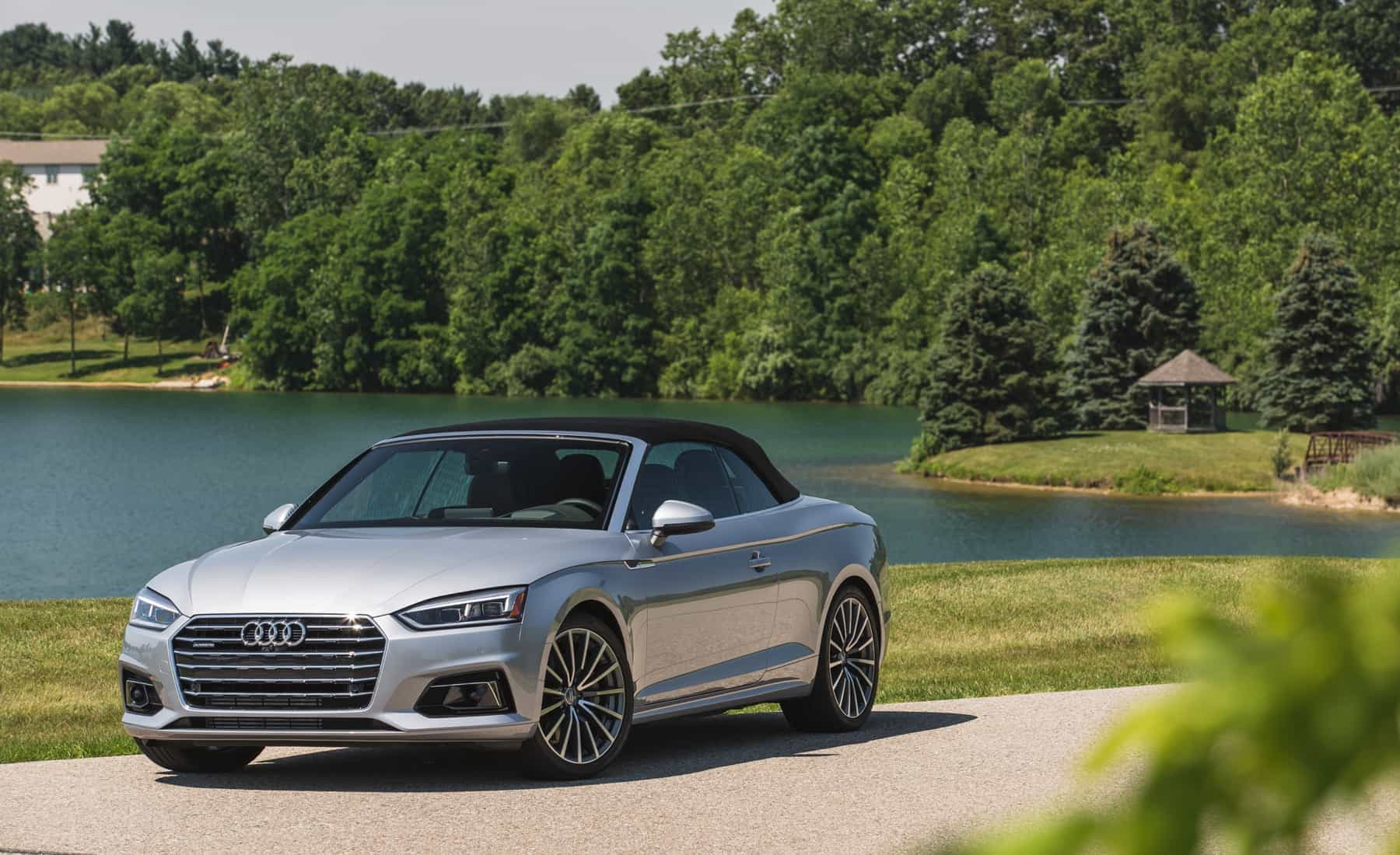 2018 Audi A5 Cabriolet Exterior Roof Close (Photo 2 of 45)