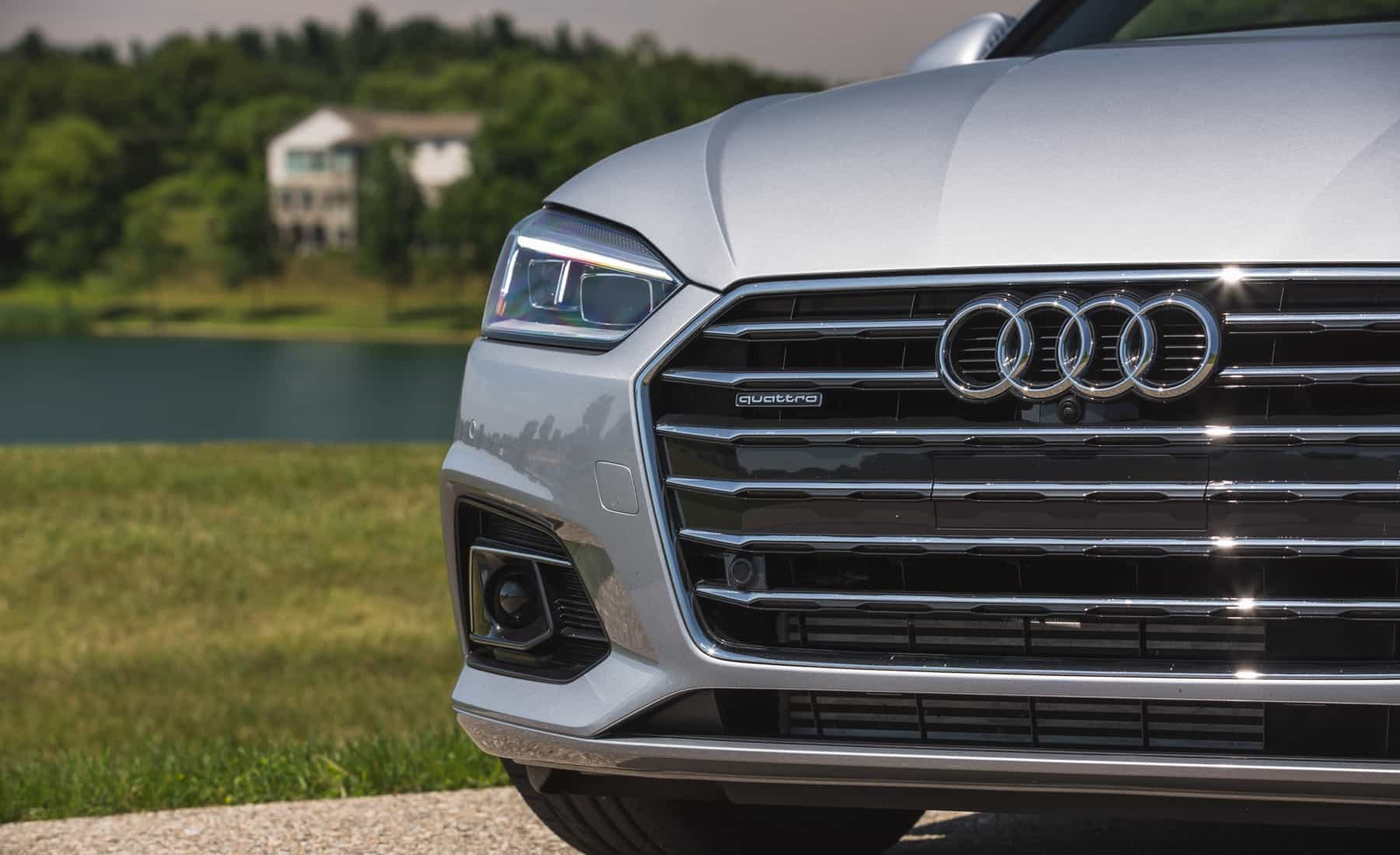 2018 Audi A5 Cabriolet Exterior View Grille And Badge (Photo 10 of 45)