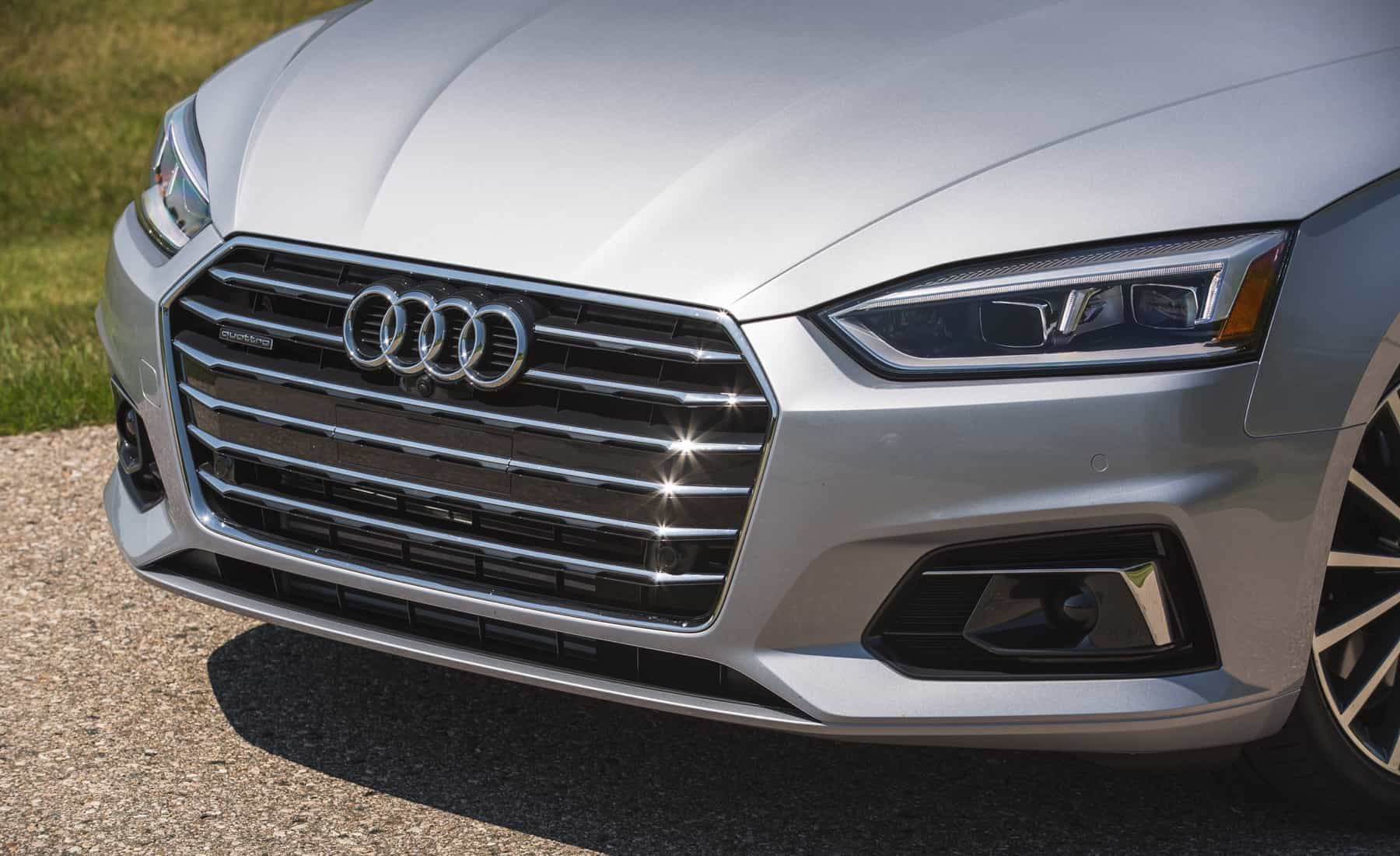 2018 Audi A5 Cabriolet Exterior View Grille And Bumper (Photo 36 of 45)