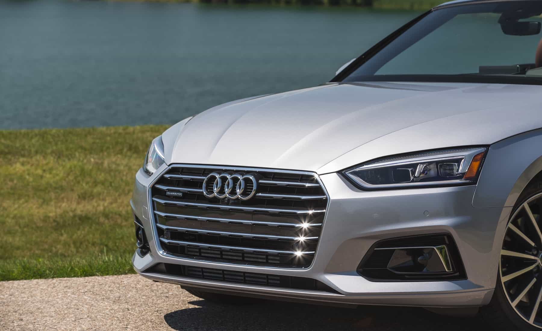 2018 Audi A5 Cabriolet Exterior View Grille (Photo 37 of 45)