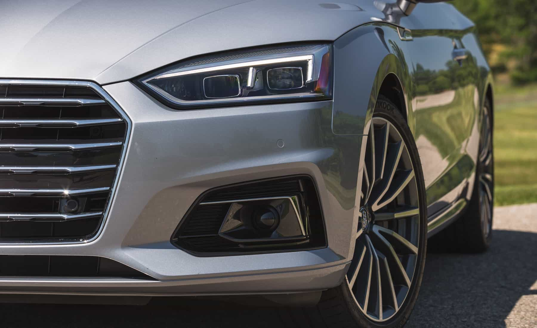 2018 Audi A5 Cabriolet Exterior View Headlight (Photo 38 of 45)