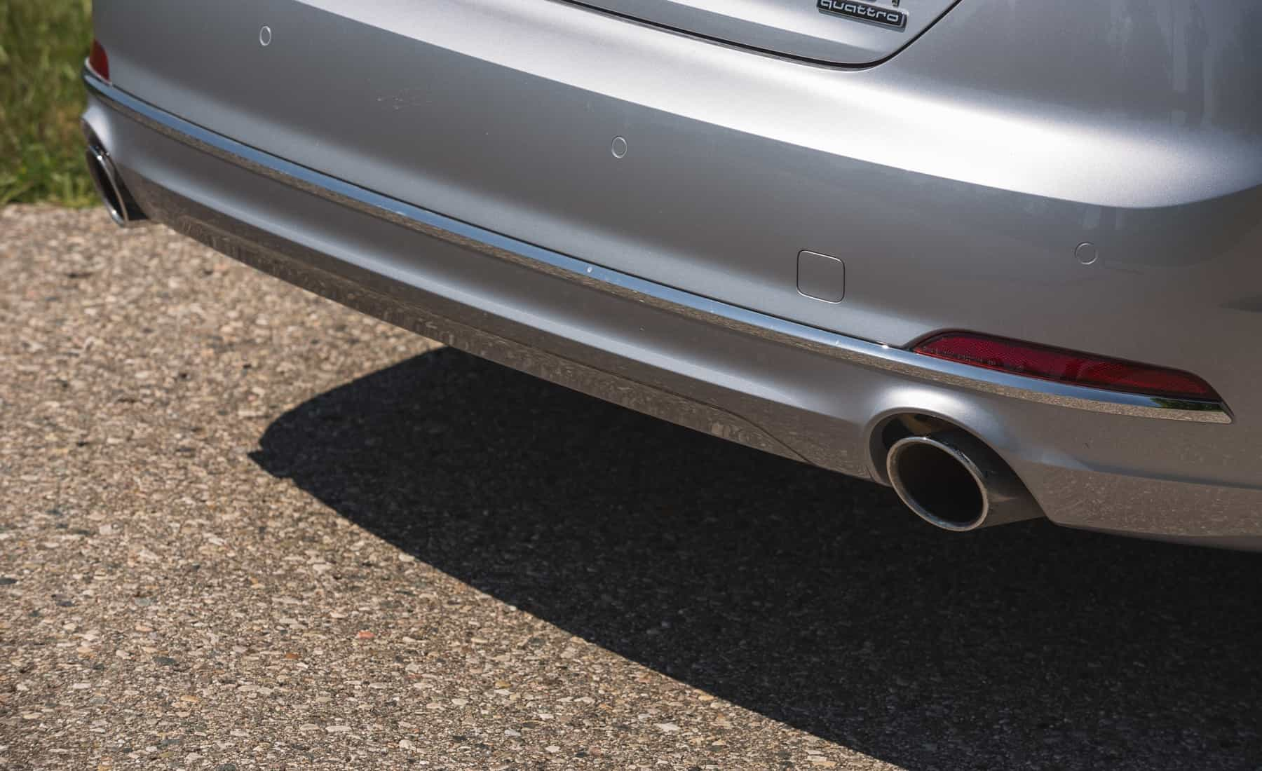 2018 Audi A5 Cabriolet Exterior View Rear Bumper (Photo 28 of 45)