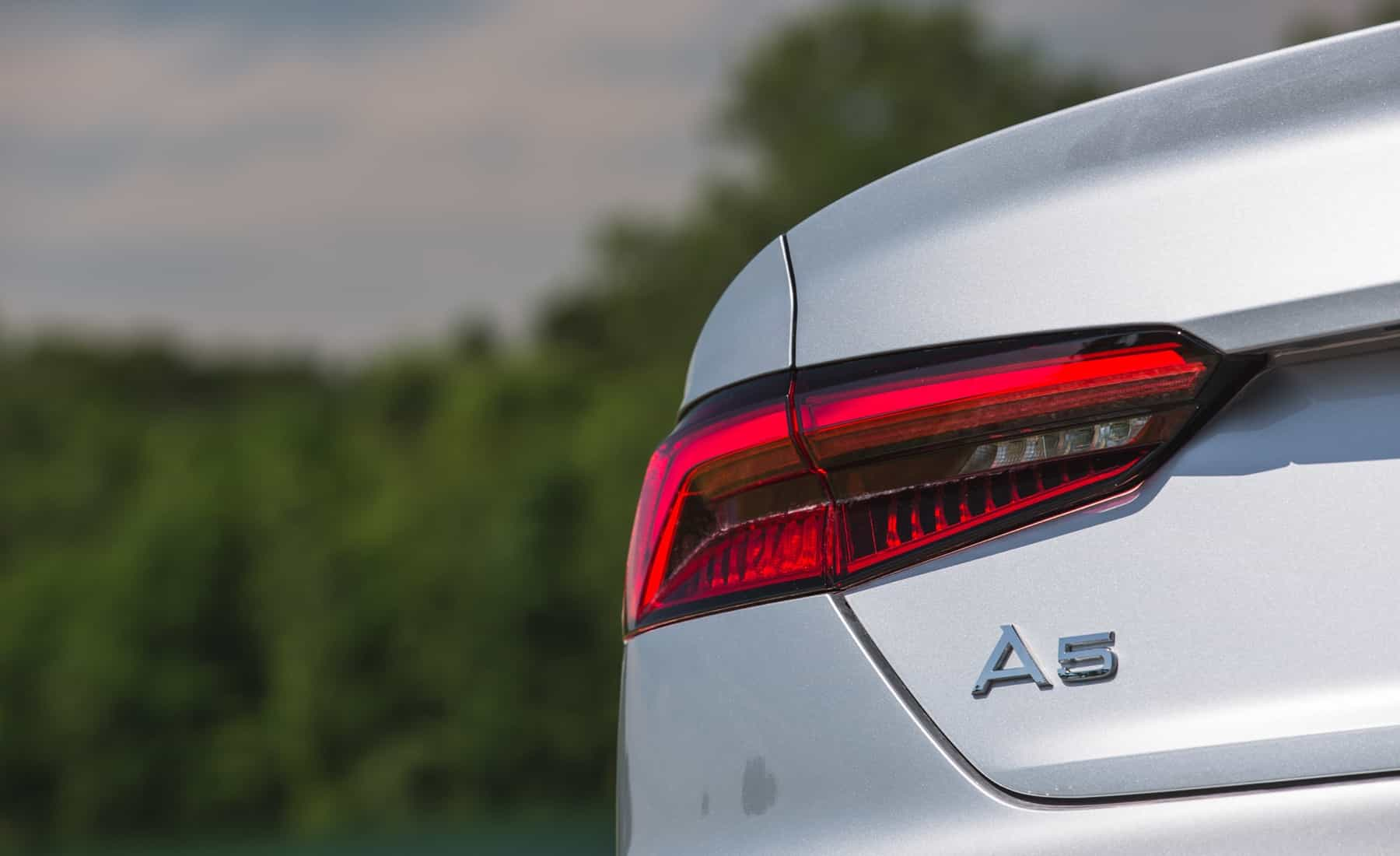 2018 Audi A5 Cabriolet Exterior View Taillight And Emblem (Photo 29 of 45)