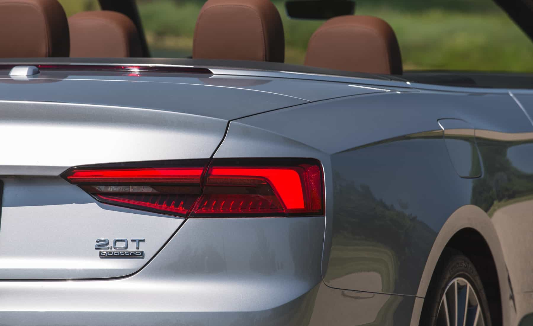 2018 Audi A5 Cabriolet Exterior View Taillight (Photo 30 of 45)