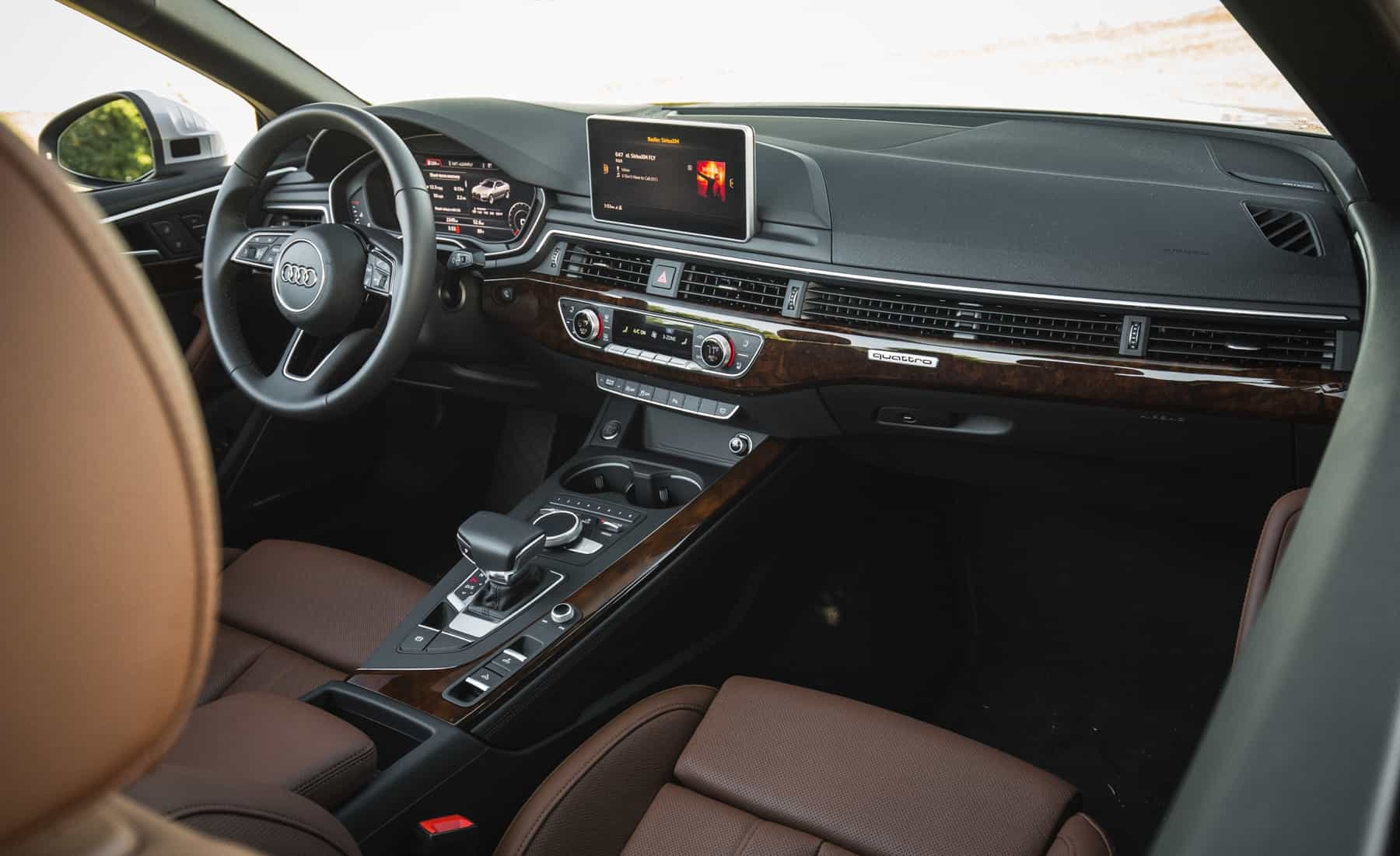 2018 Audi A5 Cabriolet Interior Dashboard (Photo 19 of 45)