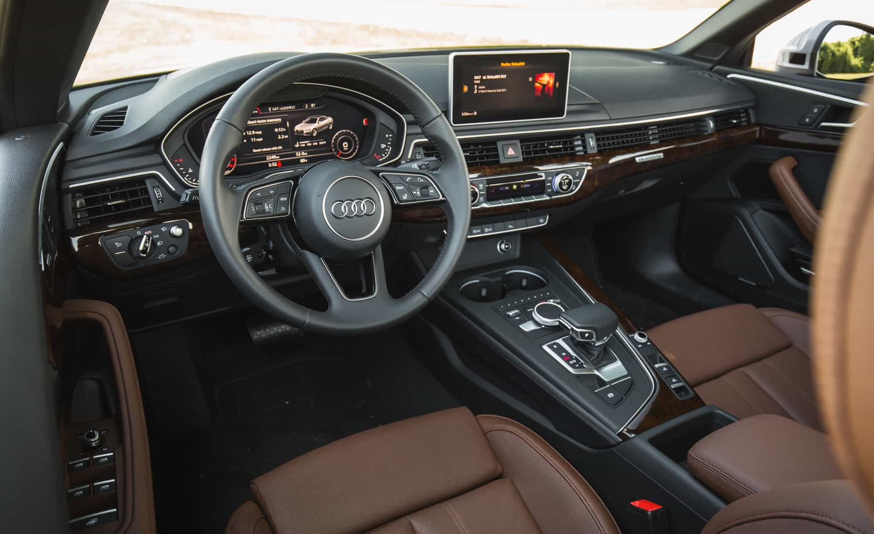 2018 Audi A5 Cabriolet Interior Driver Cockpit And Dashboard (Photo 22 of 45)