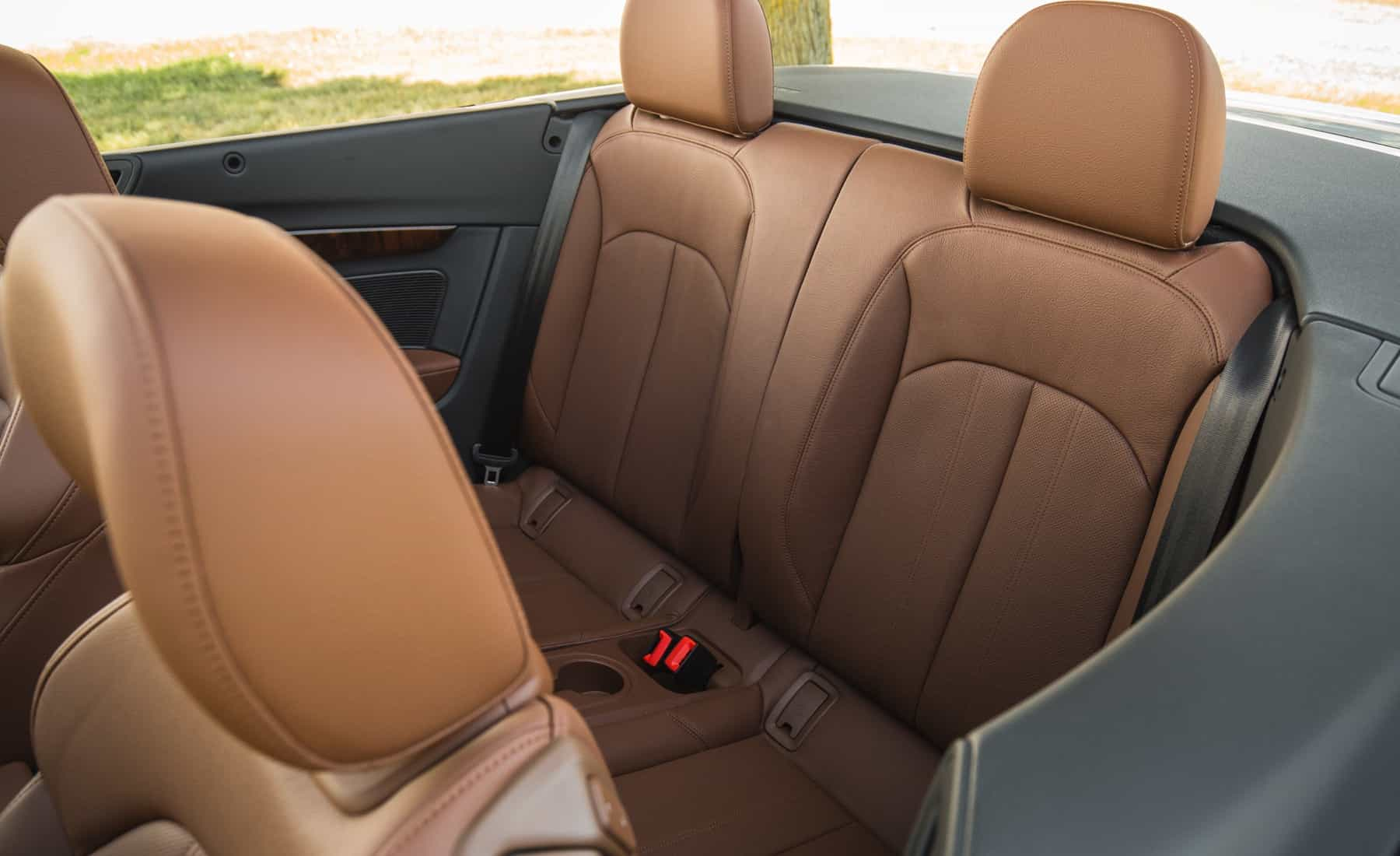 2018 Audi A5 Cabriolet Interior Seats Rear (Photo 27 of 45)