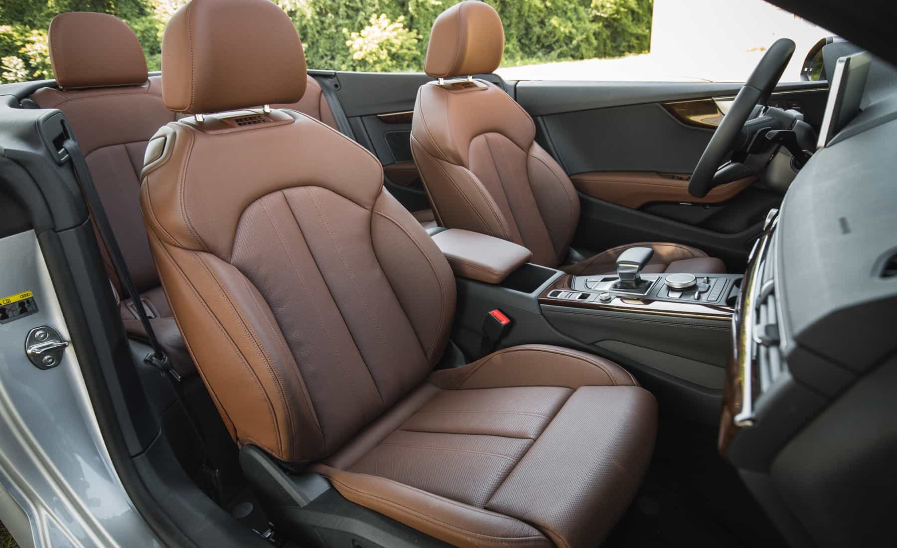 2018 Audi A5 Cabriolet Interior Seats (Photo 23 of 45)