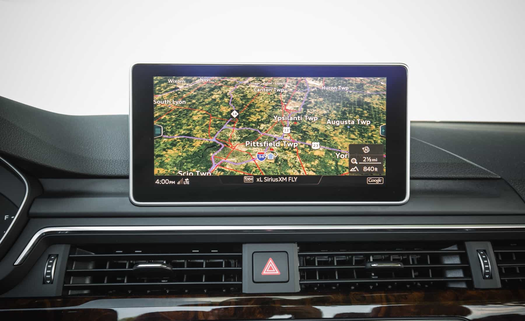 2018 Audi A5 Cabriolet Interior View GPS Navigation Screen (Photo 32 of 45)
