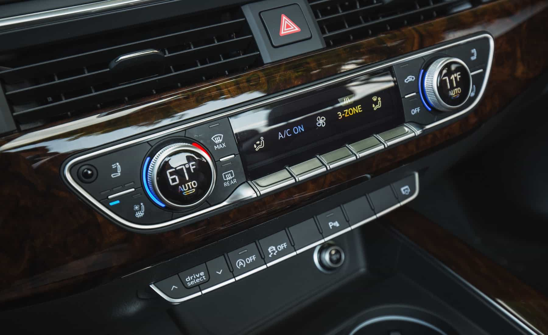 2018 Audi A5 Cabriolet Interior View Climate Control Details (Photo 22 of 45)
