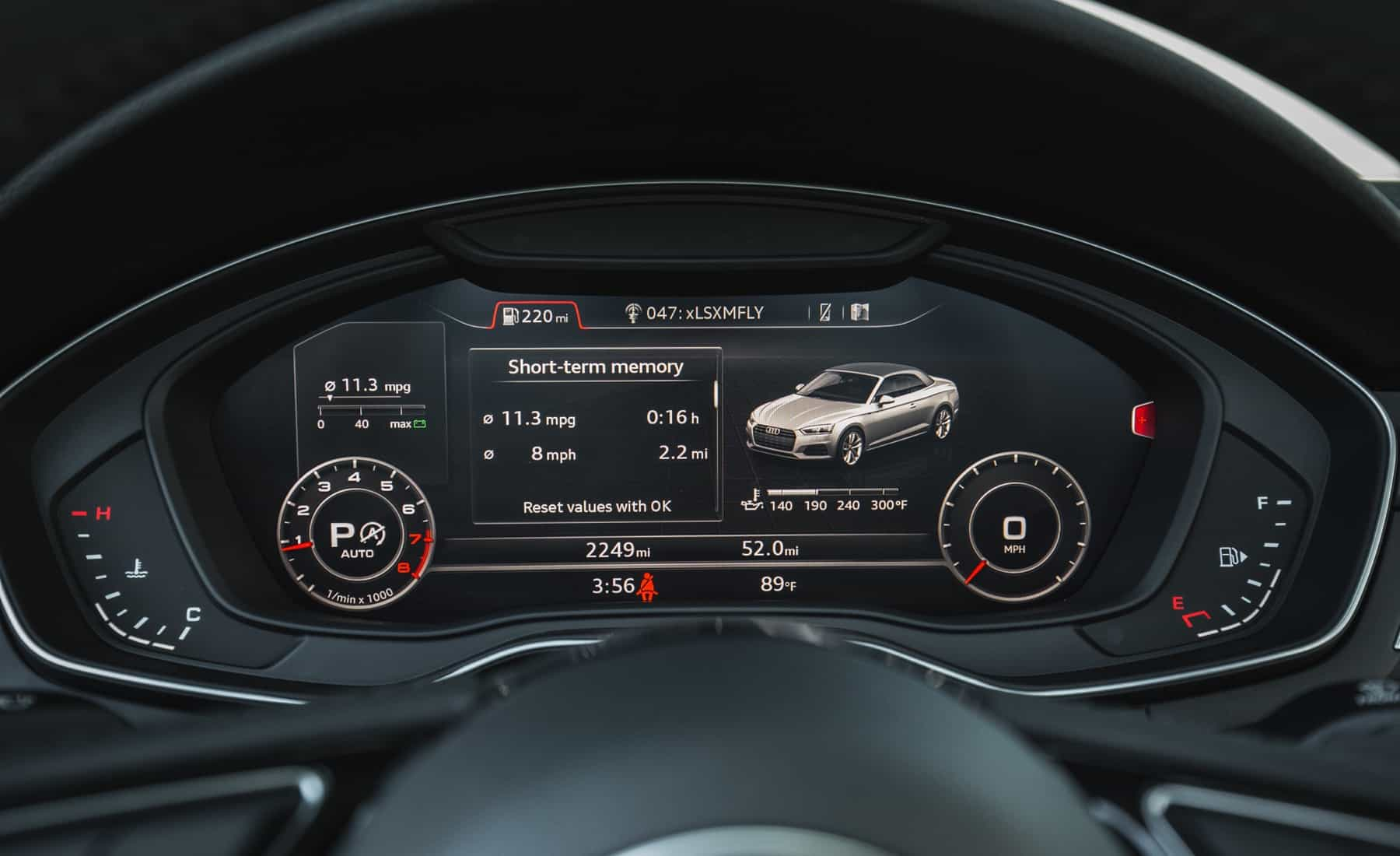 2018 Audi A5 Cabriolet Interior View Speedometer (Photo 34 of 45)
