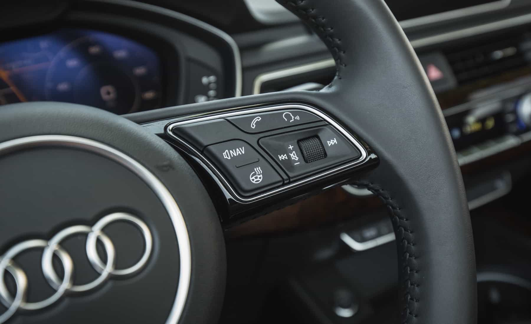 2018 Audi A5 Cabriolet Interior View Steering Control Right (Photo 37 of 45)