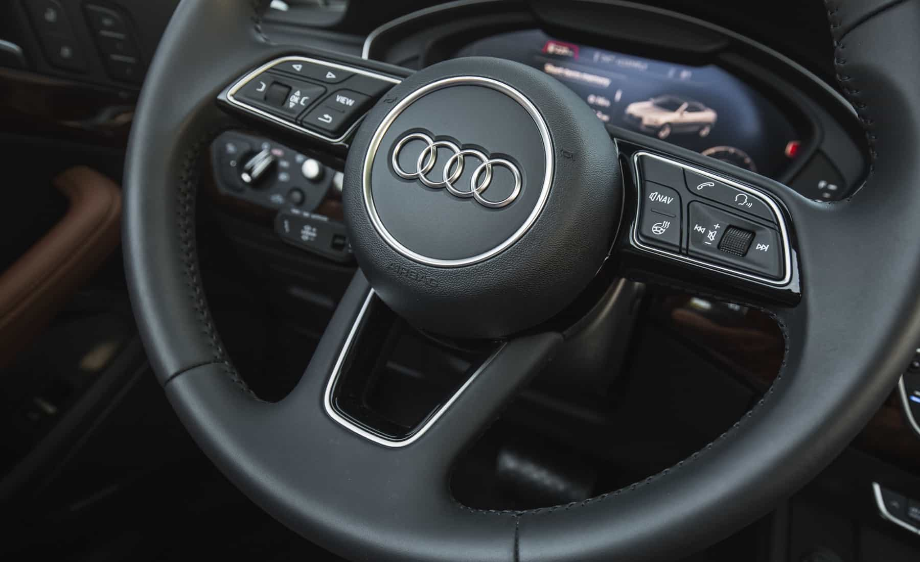 2018 Audi A5 Cabriolet Interior View Steering (Photo 35 of 45)