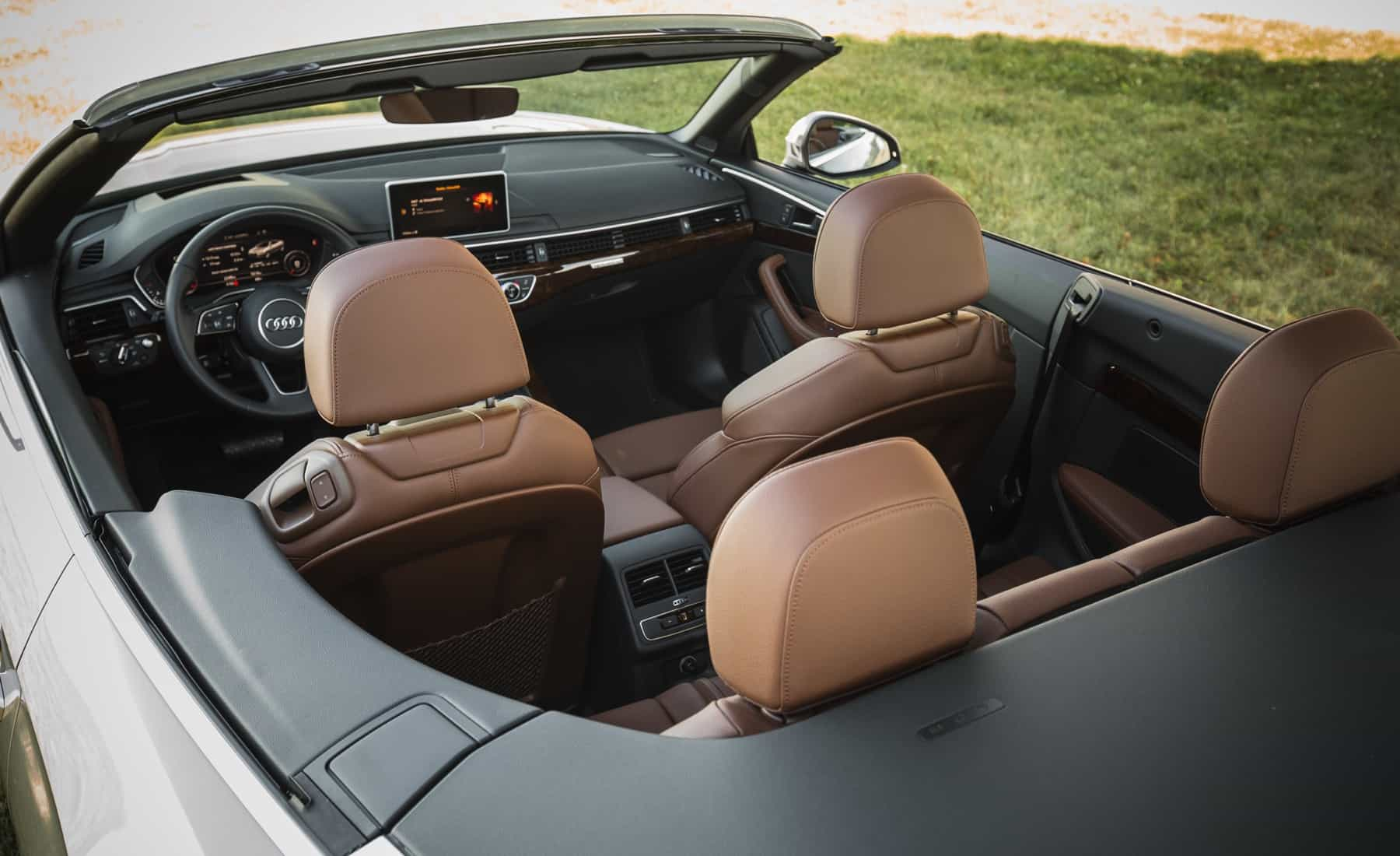 2018 Audi A5 Cabriolet Interior (Photo 18 of 45)
