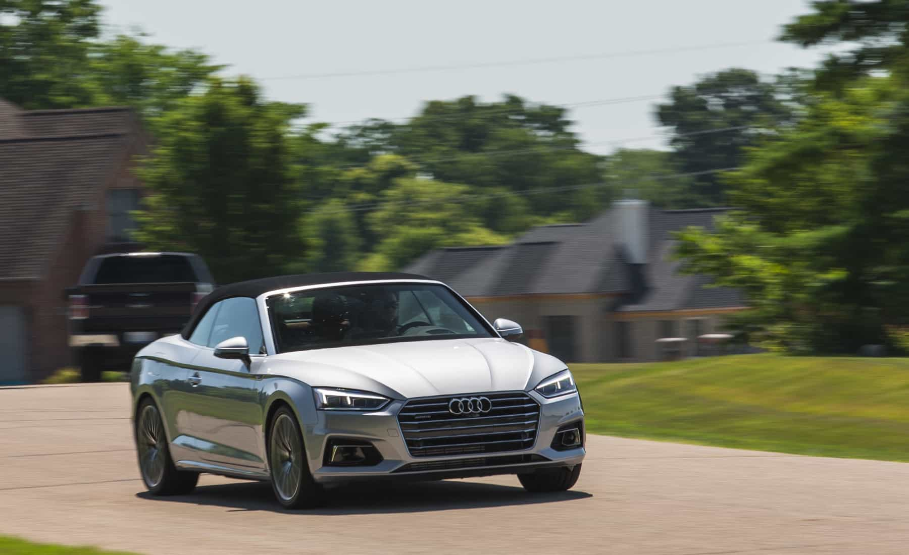 2018 Audi A5 Cabriolet Silver Metallic (Photo 39 of 45)