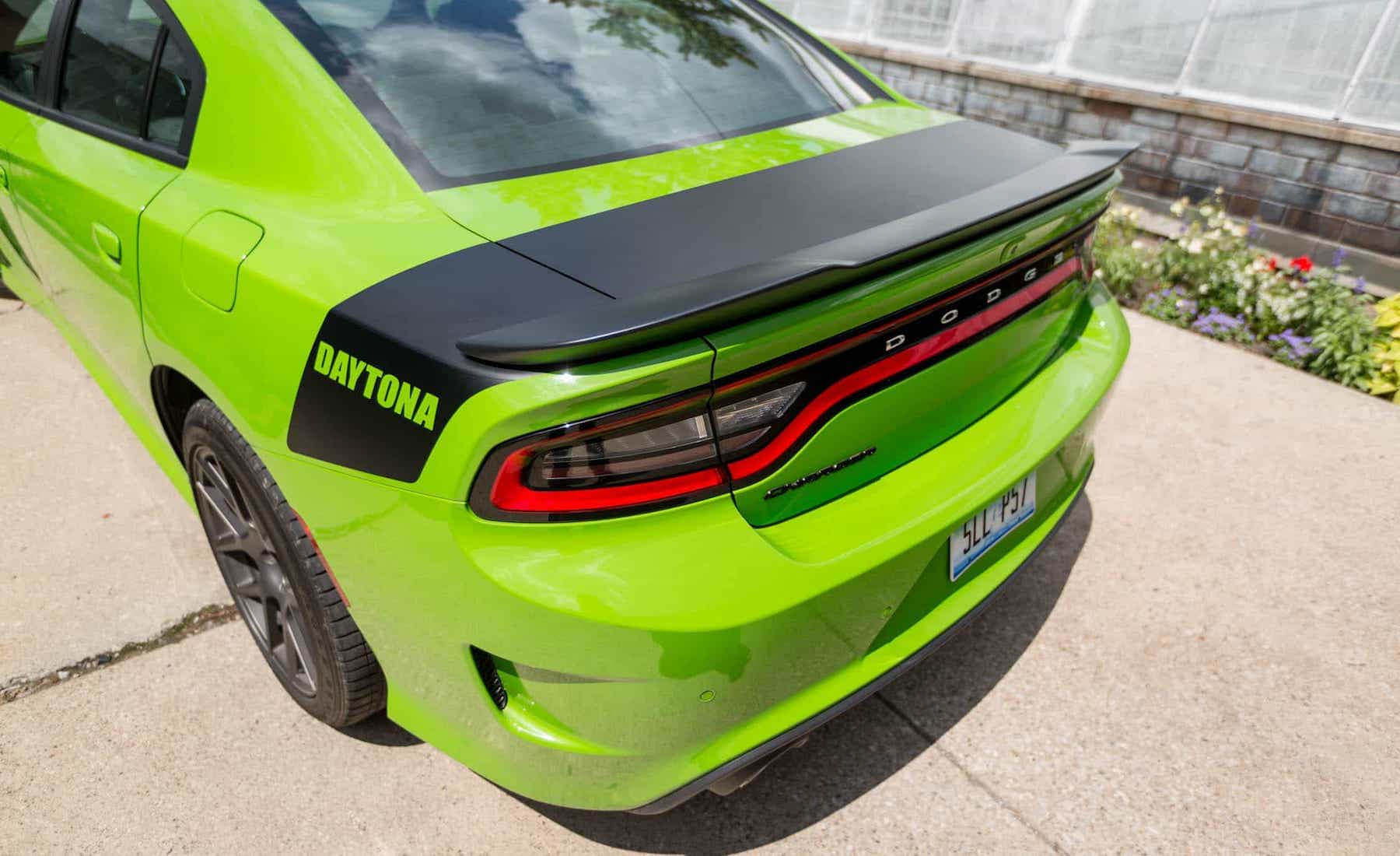 2017 Dodge Charger Daytona 5.7L V8 Exterior View Rear Spoiler And Bumper (Photo 23 of 38)