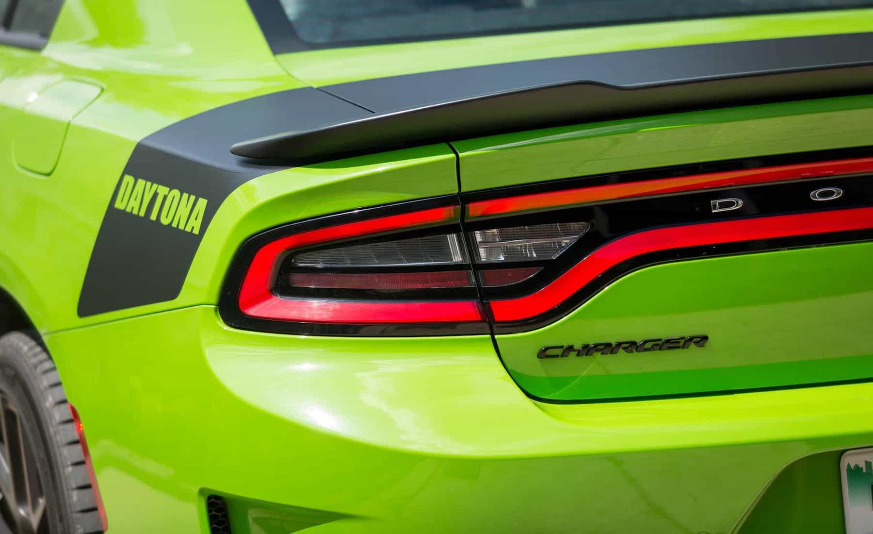 2017 Dodge Charger Daytona 5.7L V8 Exterior View Taillight (Photo 25 of 38)