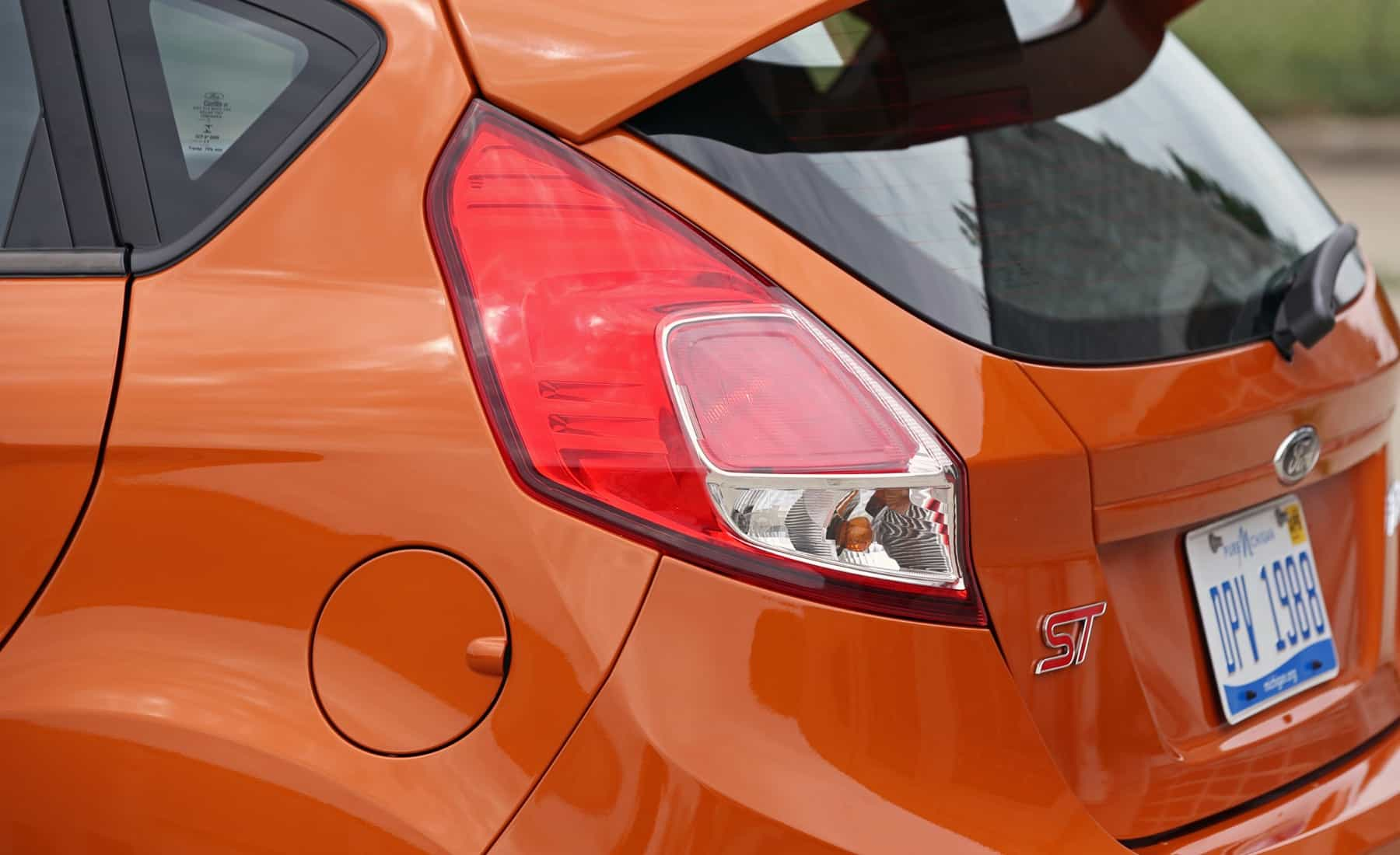 2017 Ford Fiesta ST Exterior View Taillight (Photo 36 of 47)