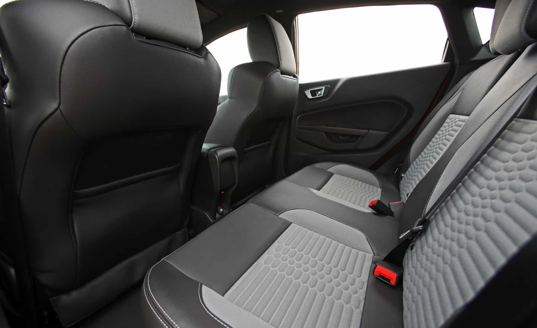 2017 Ford Fiesta ST Interior Seats Rear Space (Photo 23 of 47)