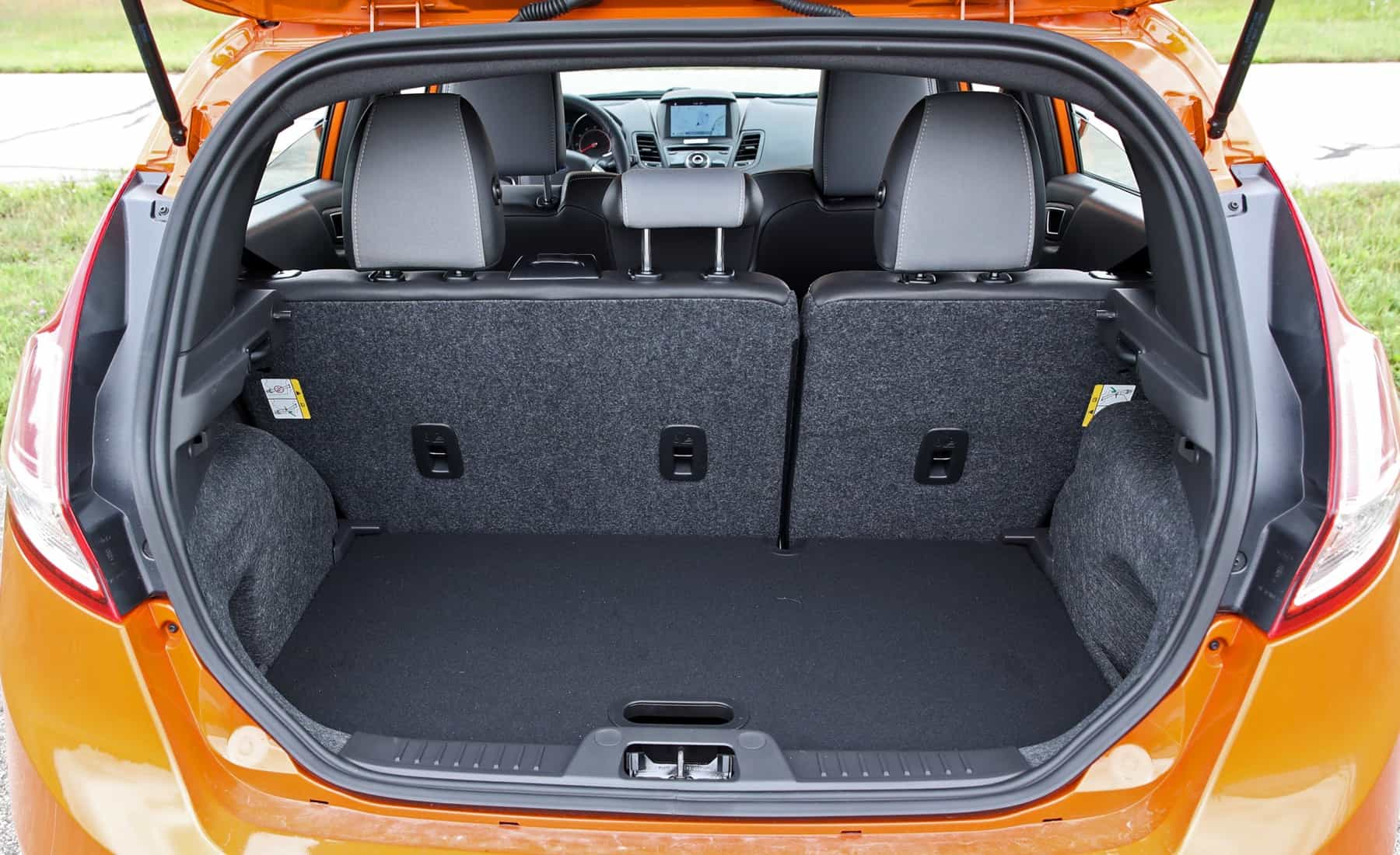 2017 Ford Fiesta ST Interior View Rear Cargo (Photo 21 of 47)