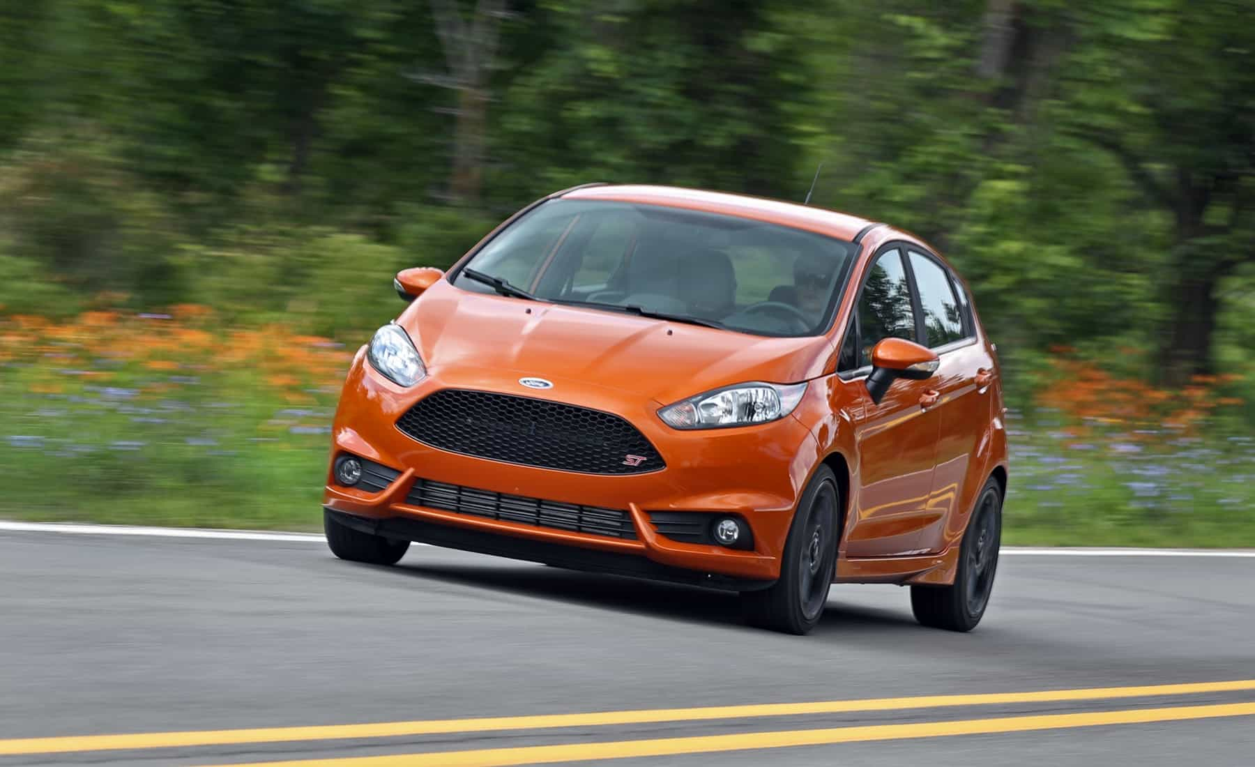 2017 Ford Fiesta ST Test Drive Front Corner (Photo 37 of 47)