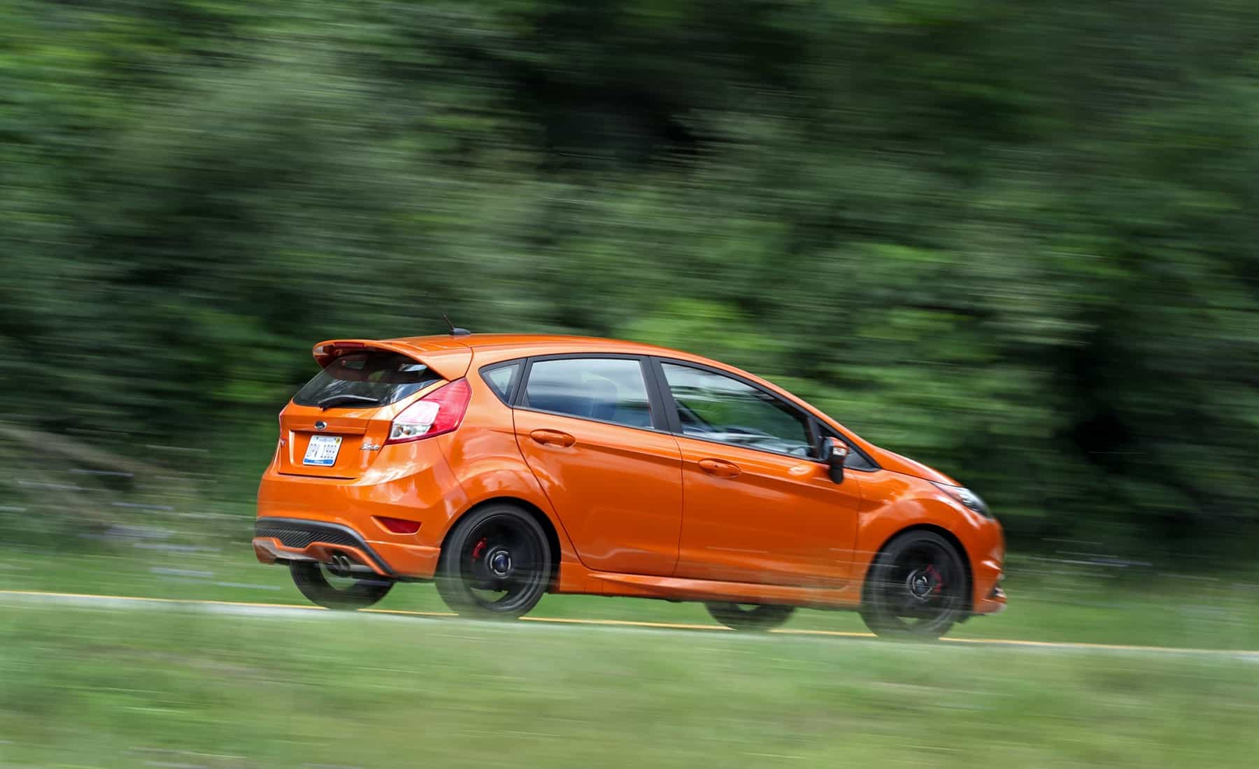 2017 Ford Fiesta ST Test Drive Rear And Side View (Photo 40 of 47)